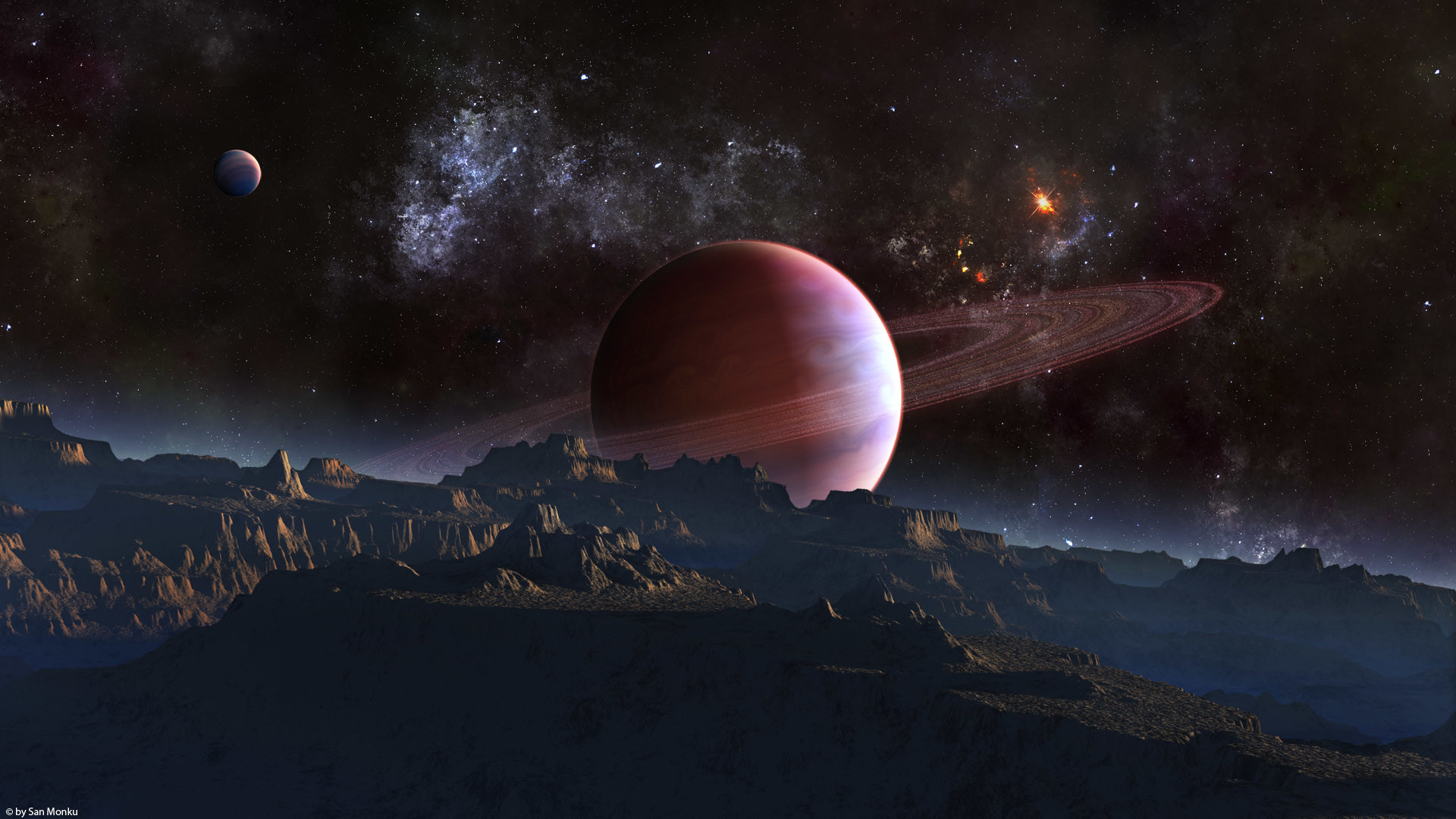 Res: 1920x1080, Space ...