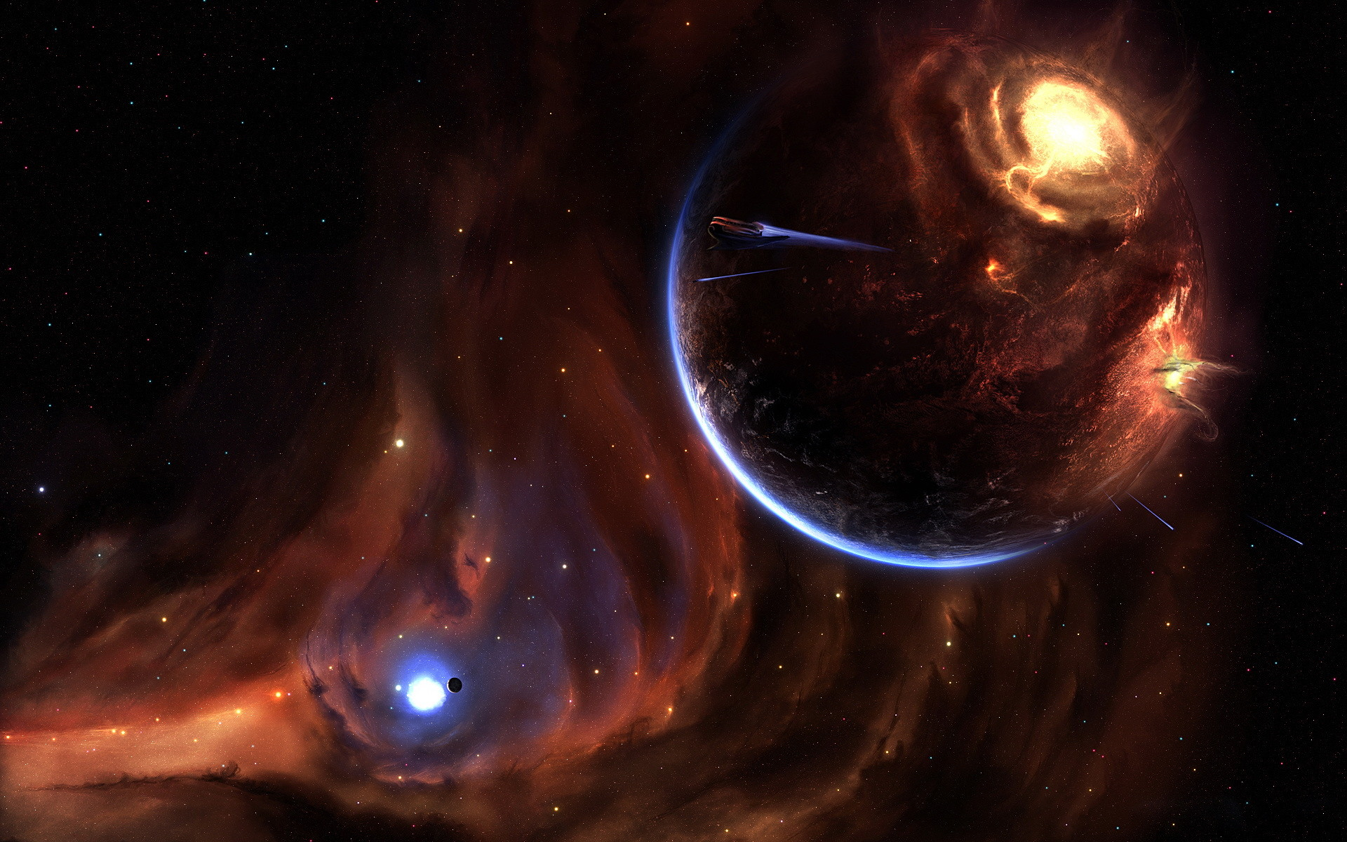 Res: 1920x1200, Image: Space Fantasy wallpapers and stock photos. Â«
