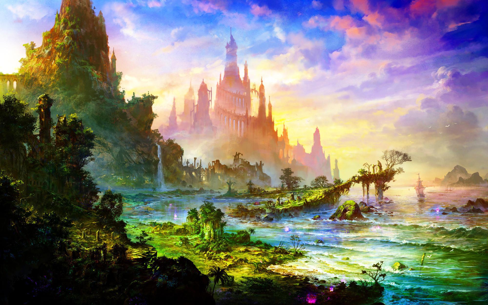Res: 2000x1250,  Space/Fantasy Wallpaper Set 78