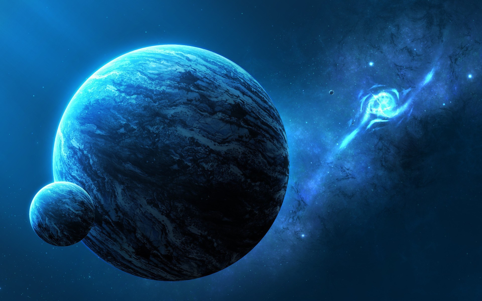 Res: 1920x1200, Outer space fantasy art digital artwork wallpaper