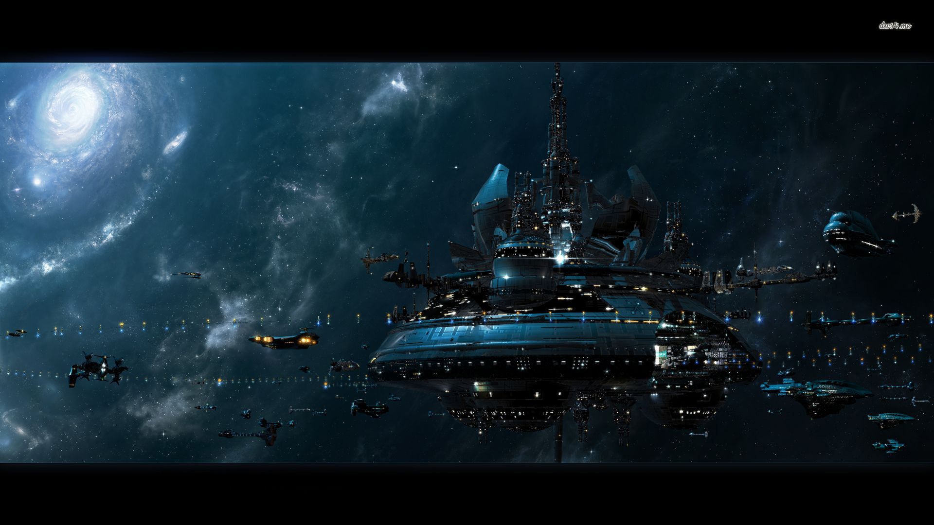Res: 1920x1080, ... Space station wallpaper  ...