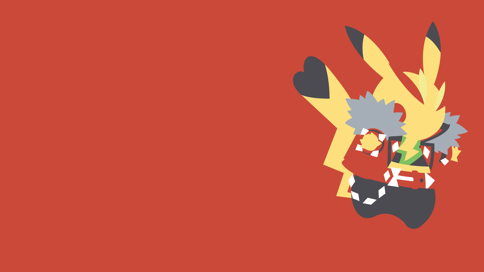 Res: 1920x1080, Pikachu Rock Star by LimeCatMastr