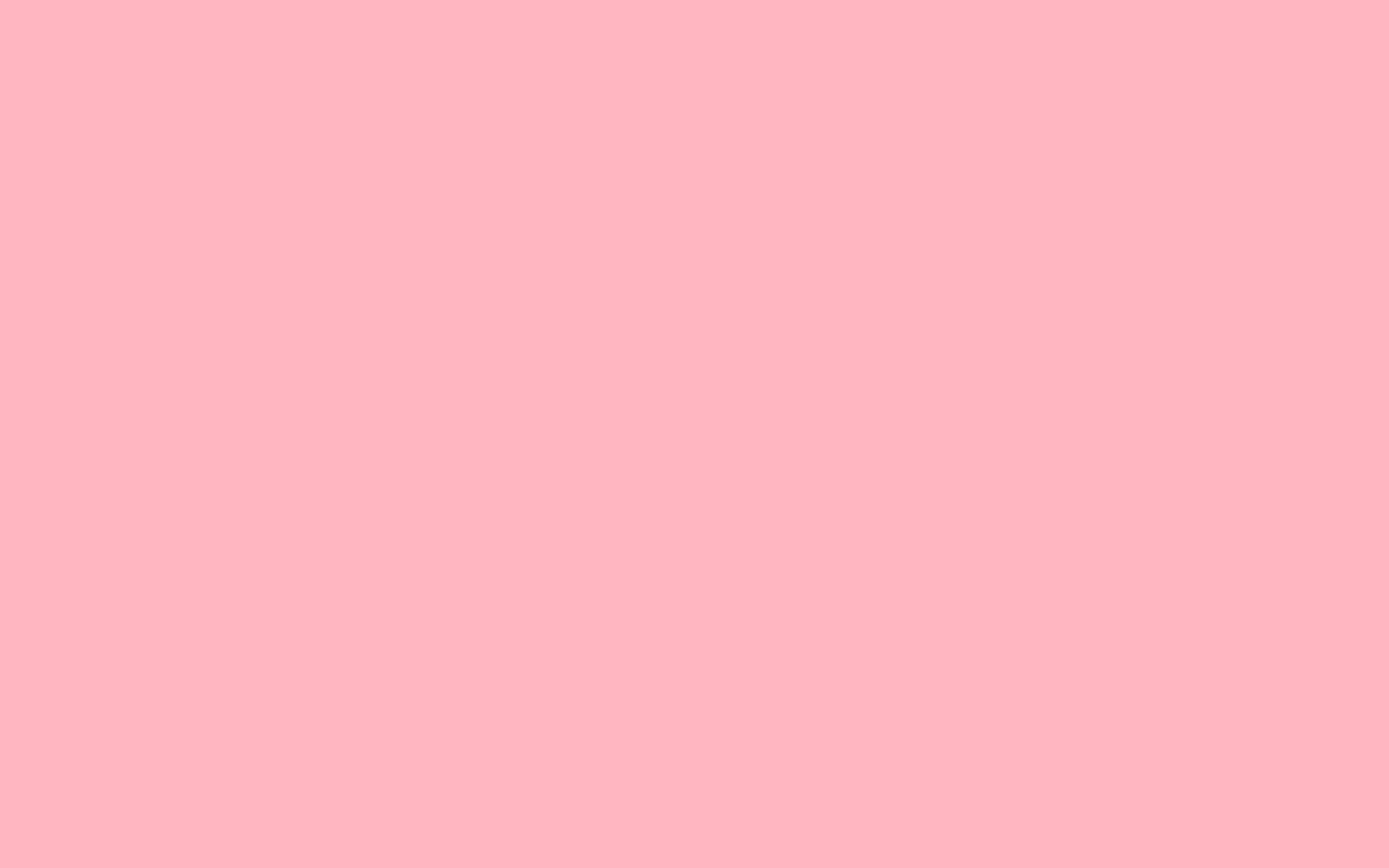 Res: 2880x1800,  Light Pink Solid Color Background