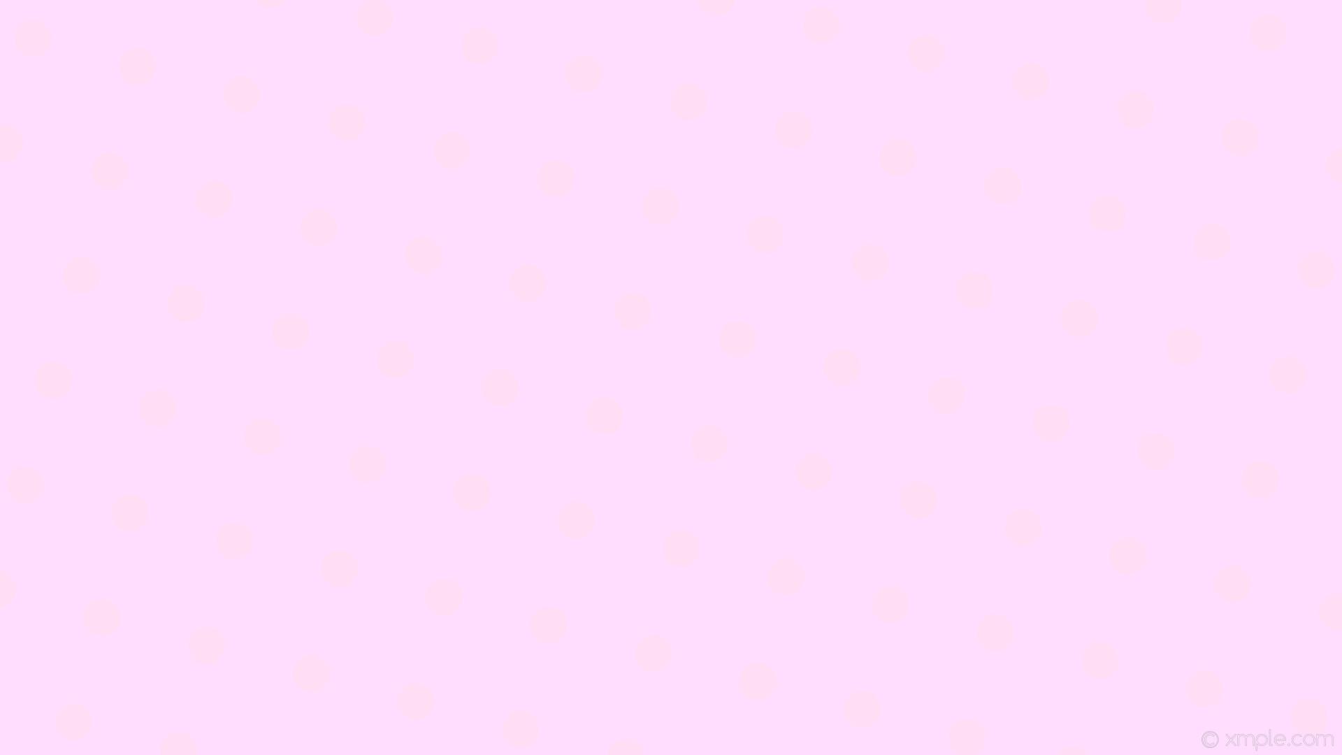 Res: 1920x1080, wallpaper polka magenta dots spots pink light magenta light pink #ffddfe  #ffddf4 345°