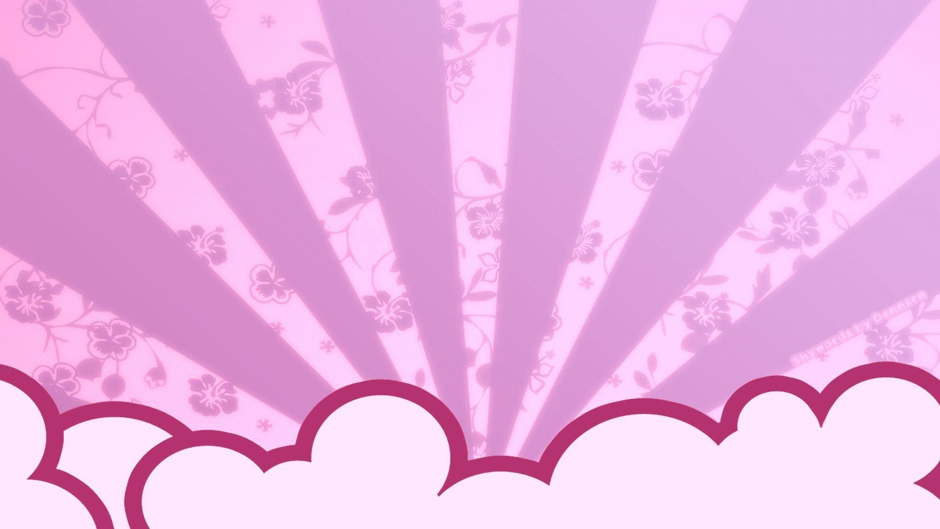 Res: 1920x1080, Low Poly Light Pink Wallpaper Background Freevectors