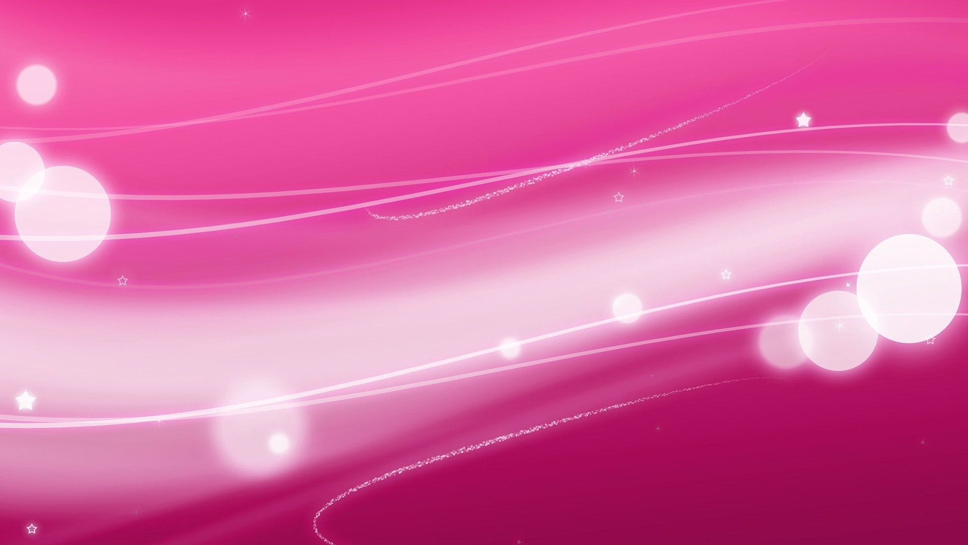Res: 1920x1080,  Wallpaper reflections, rays, lines, light, pink