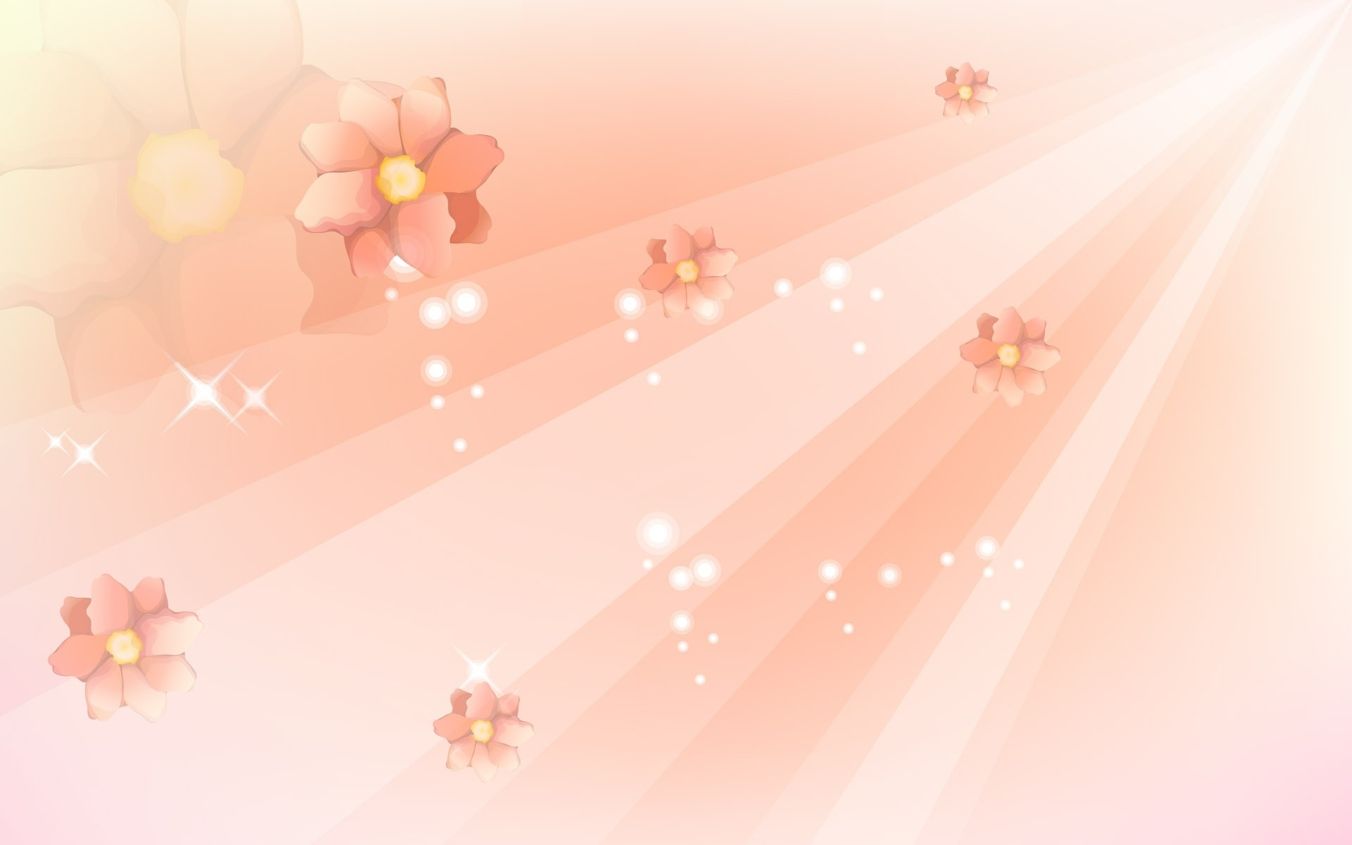 Res: 1920x1200, Bright Pink Flowers Background