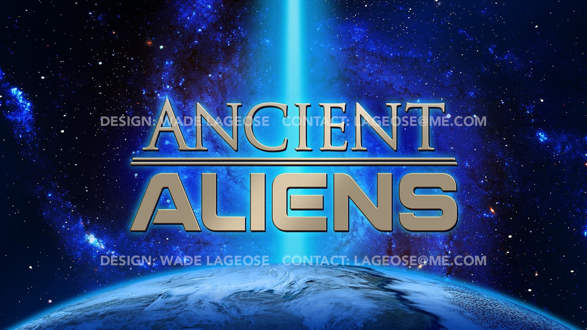 Res: 1920x1080, Ancient Aliens logo and title opening design