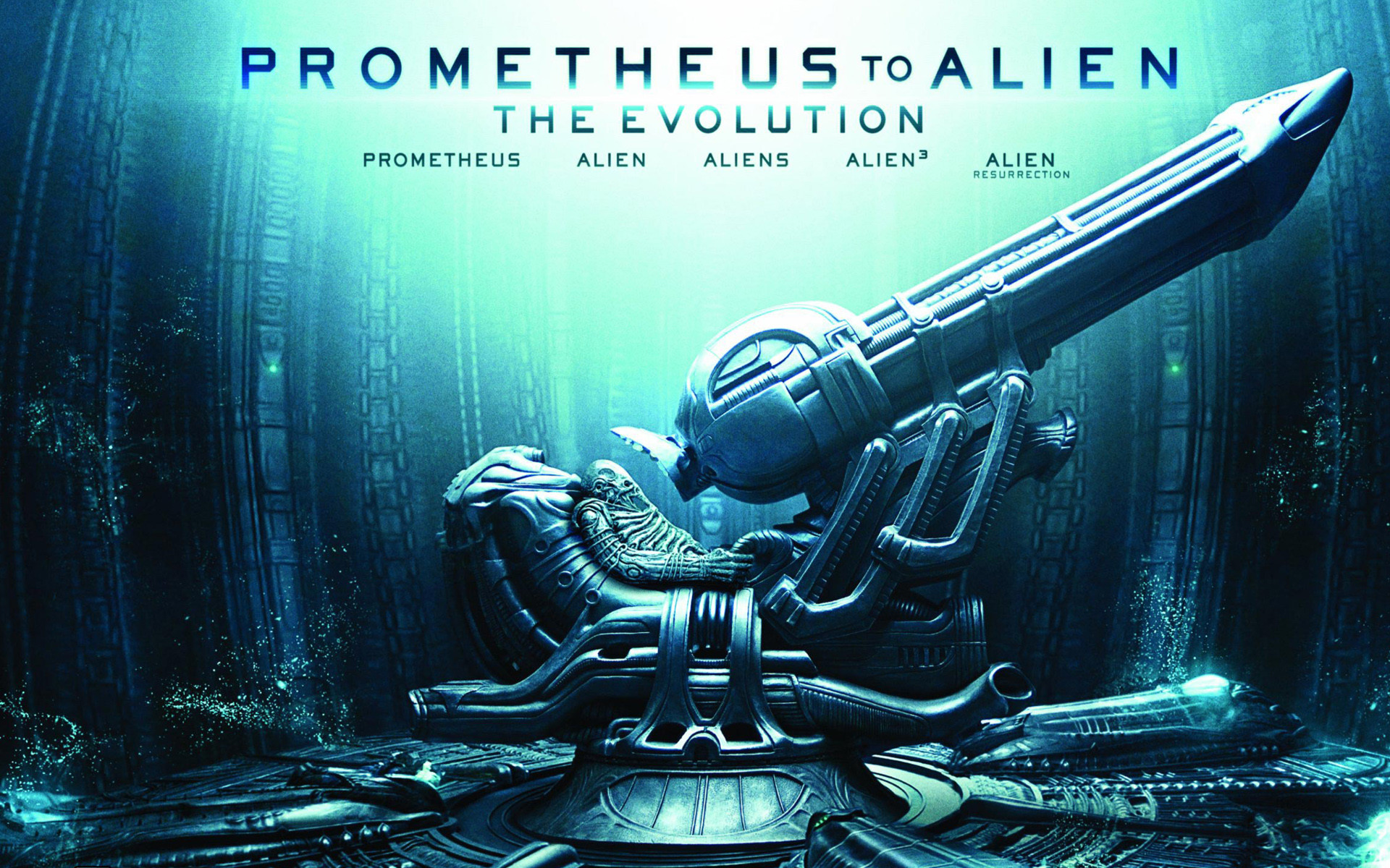 Res: 1920x1200, Prometheus to Alien The Evolution Wallpaper