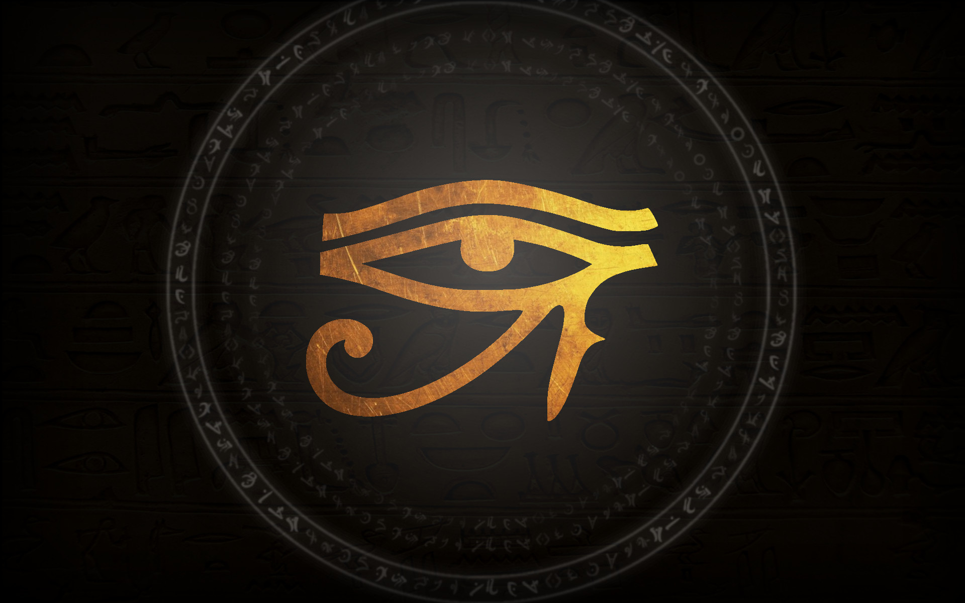 Res: 1920x1200, Wallpaper Eye of the Horus by LadyAdaia.deviantart.com on @DeviantArt