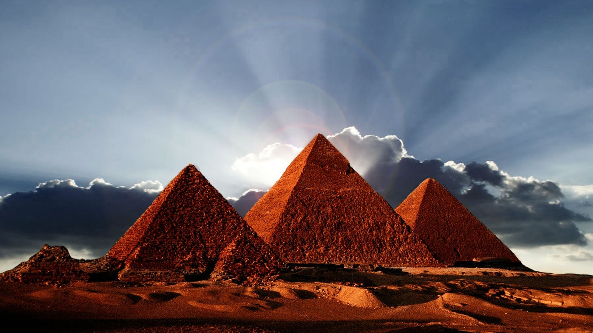Res: 1920x1080, Pyramids of egypt wallpaper