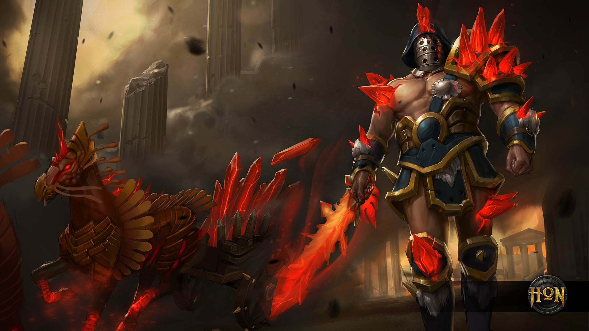 Res: 1920x1080, 0 1920x1200 Painting gladiator wallpaper 125157 WallpaperUP   Riftshards Gladiator Wallpaper Heroes of Newerth Lore