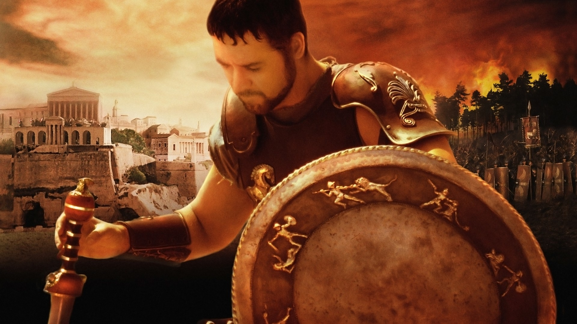 Res: 1920x1080, Russell Crowe Gladiator Quotes. QuotesGram