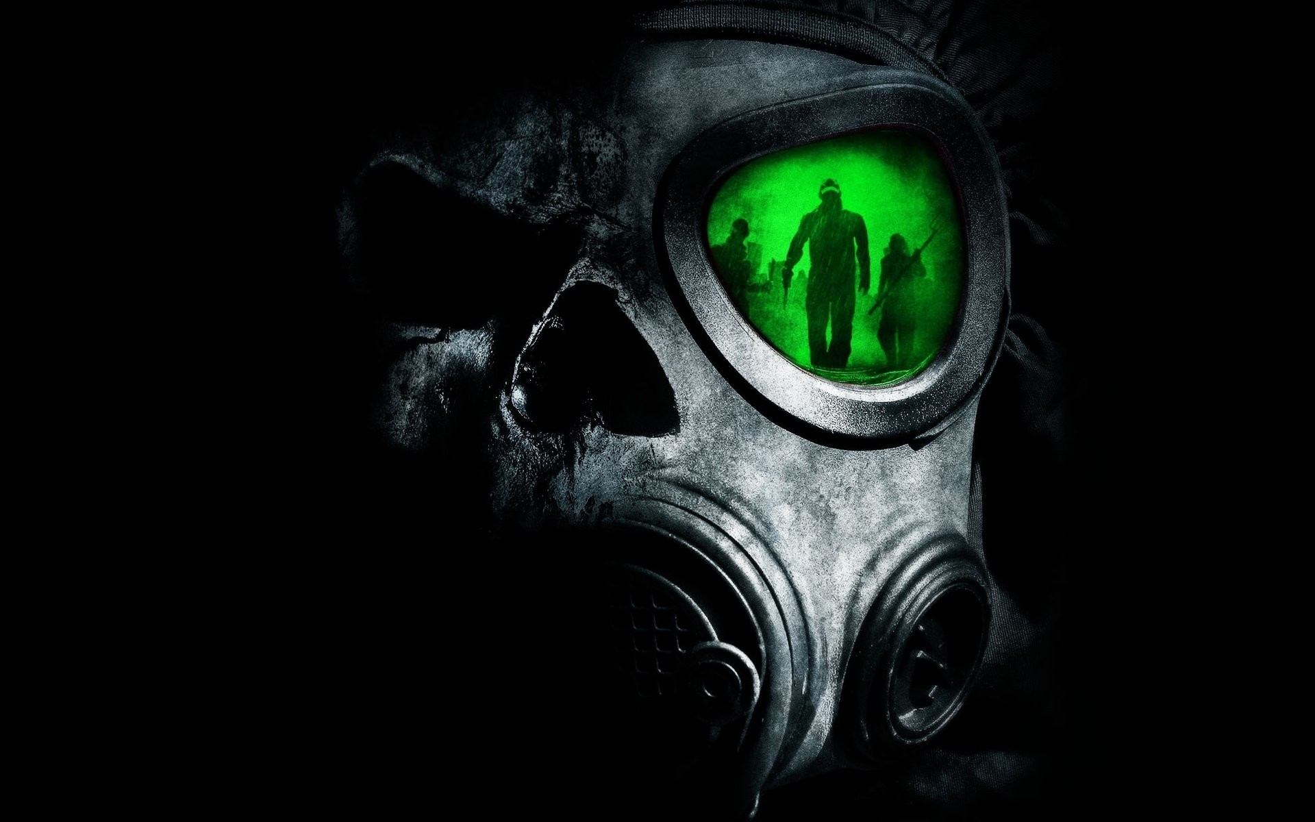 Res: 1920x1200, Gas Mask · HD Wallpaper   Background Image ID:84086