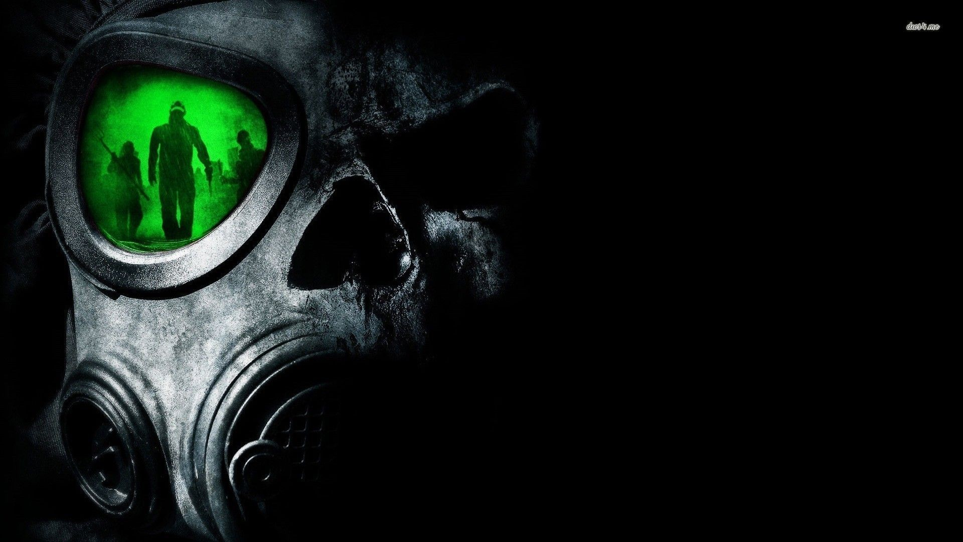 Res: 1920x1080, Gas Mask Wallpaper - Download Black HD Wallpapers