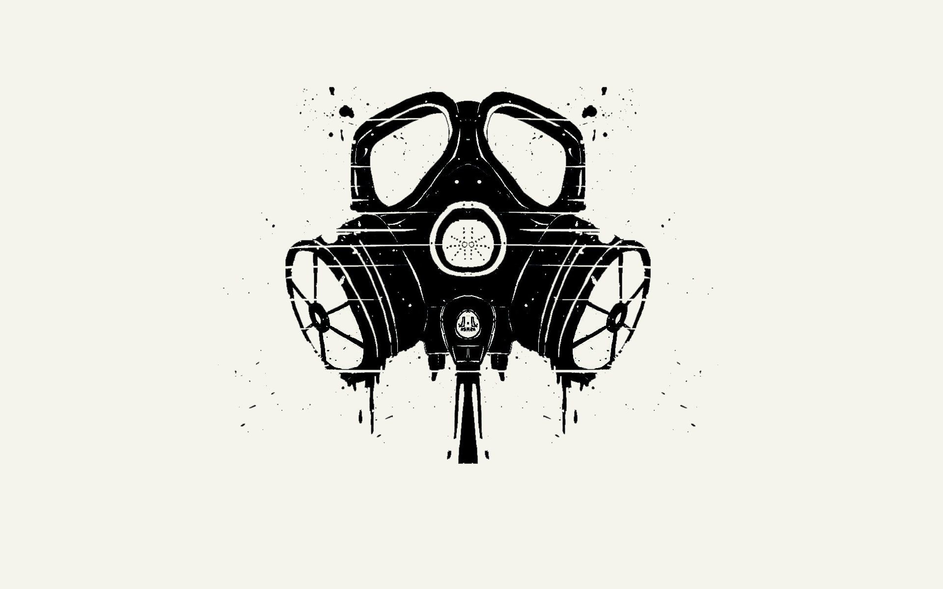 Res: 1920x1200, gas mask Wallpaper Background