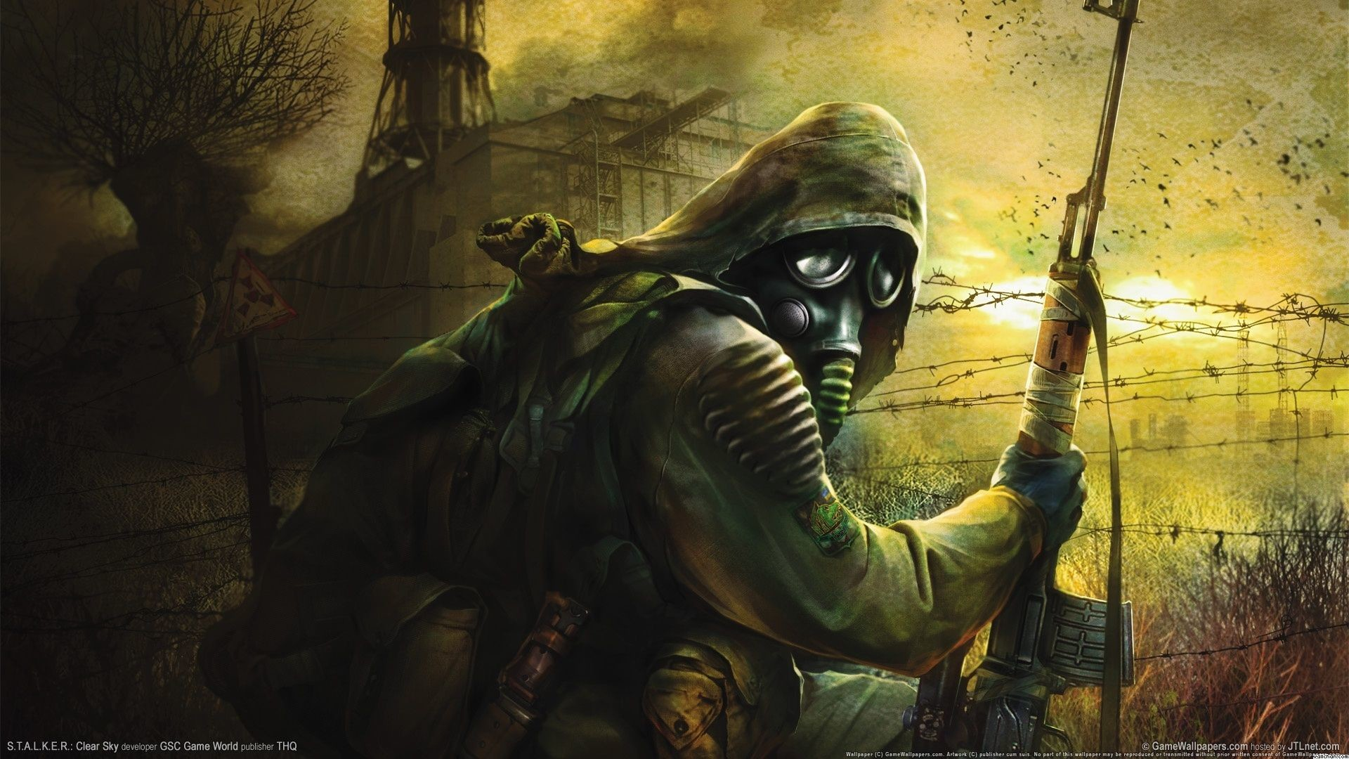 Res: 1920x1080, Gas Mask Soldier