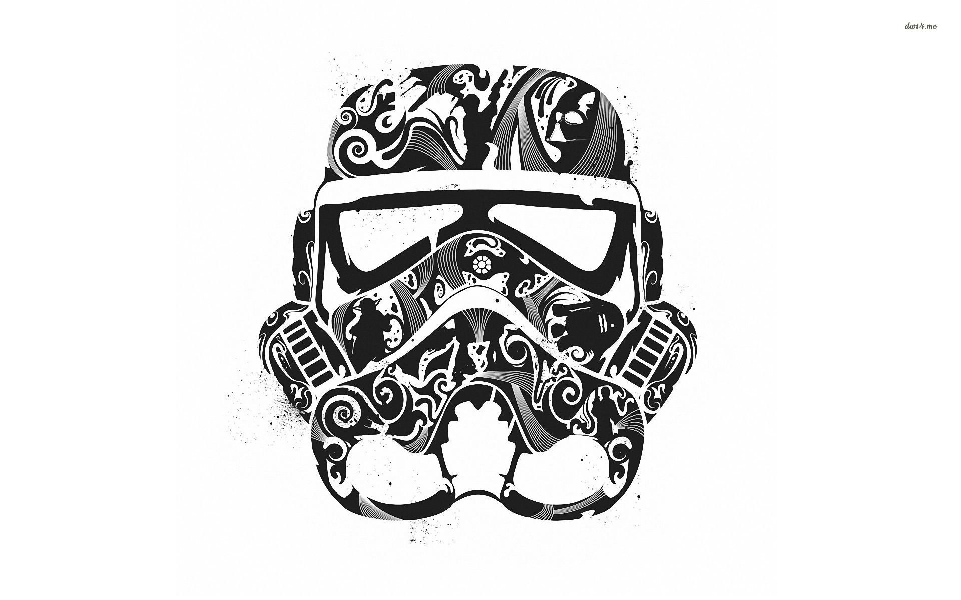 Res: 1920x1200, ... Stormtrooper helmet wallpaper  ...