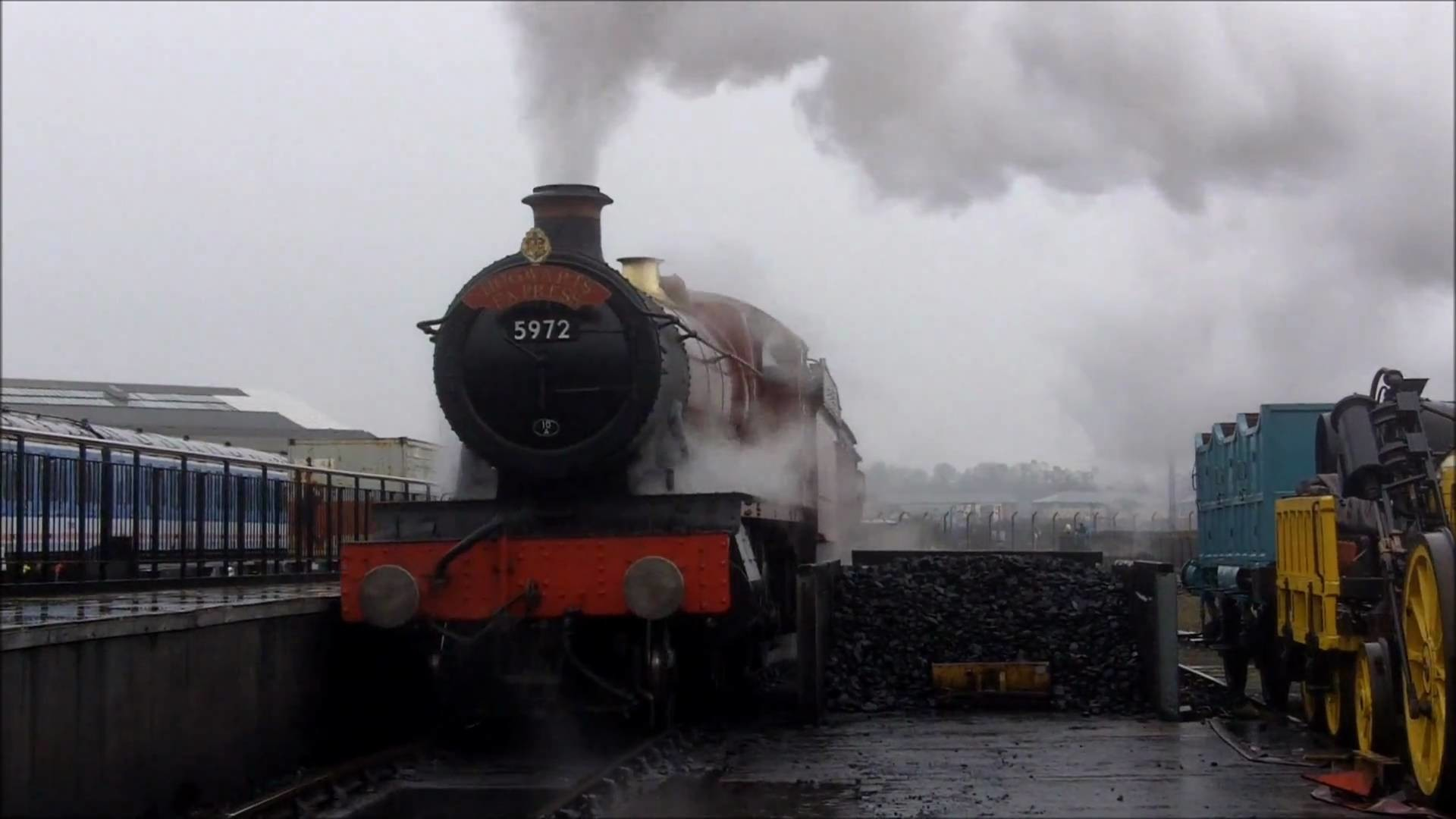 Res: 1920x1080, Hogwarts Express @ York National Train Museum - HD (1080p)