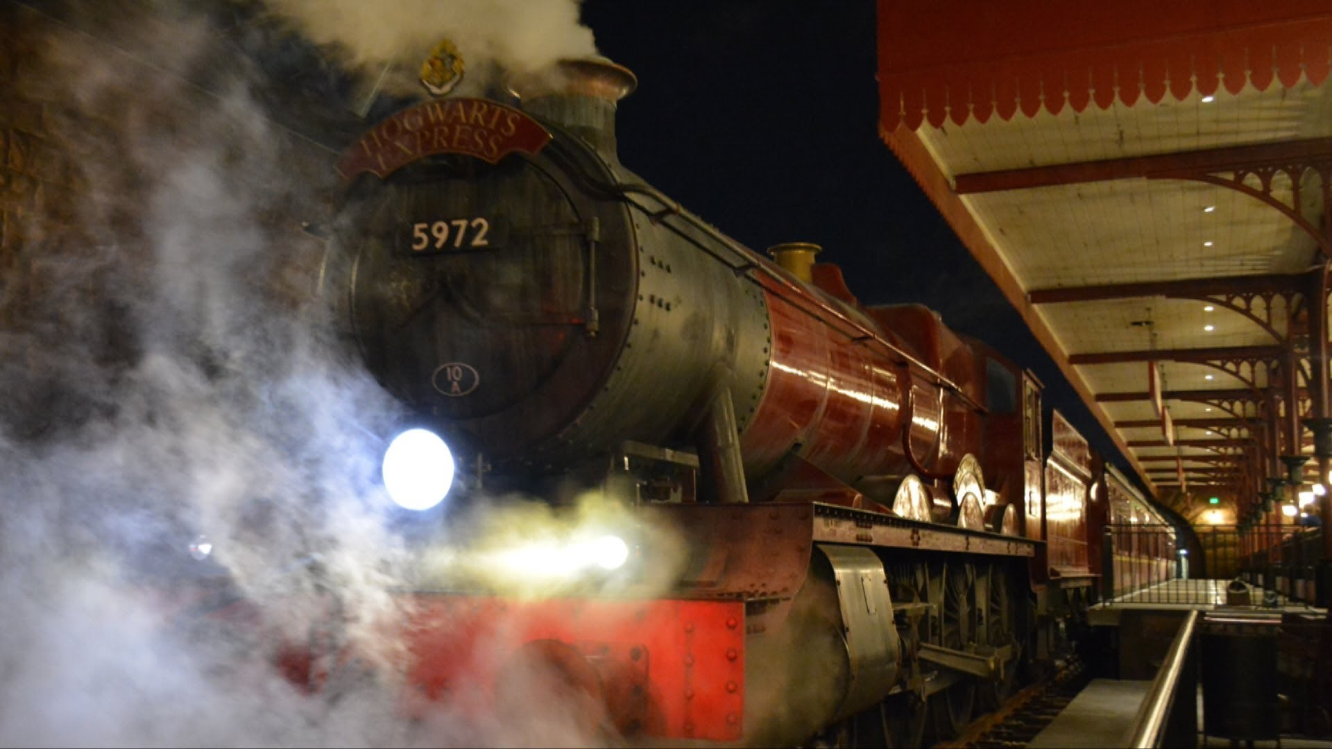 Res: 1920x1080, Hogwarts Express from King's Cross Station to Hogsmeade Spoiler Free Tour  including Platform 9 ¾