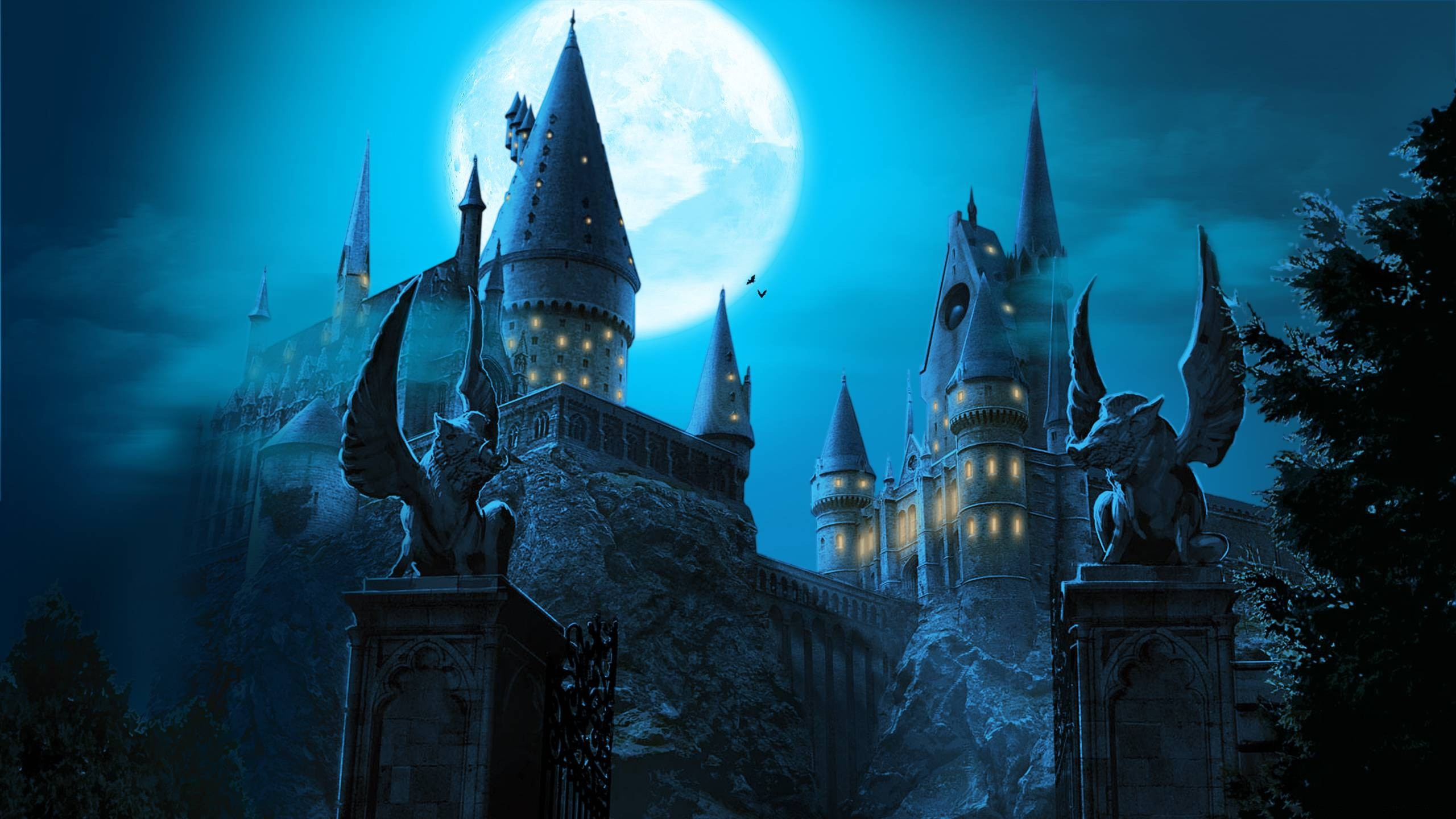 Res: 2560x1440, Hogwarts Castle Wallpapers.