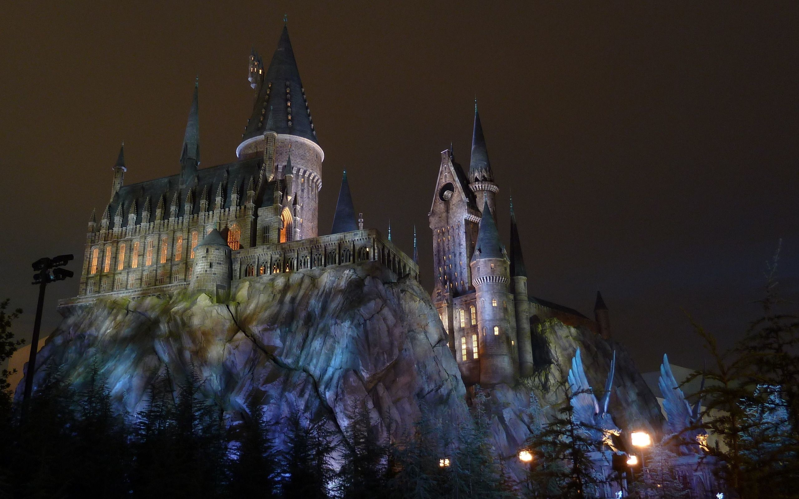 Res: 2560x1600, Hogwarts Castle Wallpapers HD.