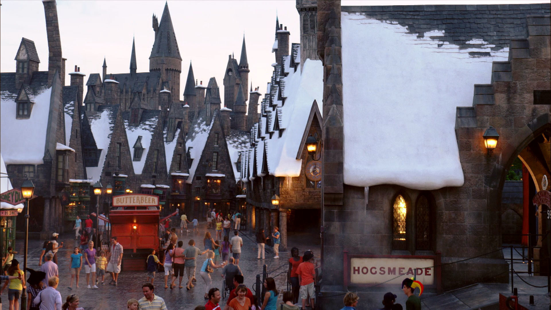 Res: 1920x1080, Town of Hogsmeade wallpaper - Click picture for high resolution HD wallpaper