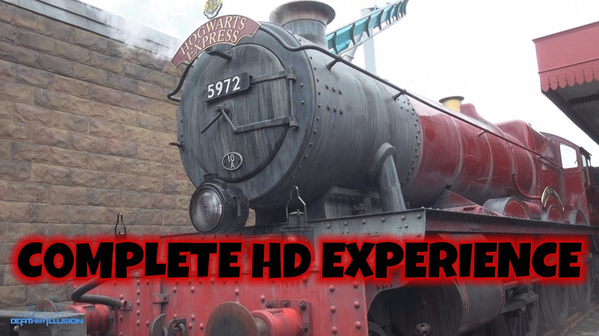 Res: 1920x1080, Hogwarts Express Train - London Kings Cross On-ride (Complete HD  Experience) Universal Orlando WWoHP