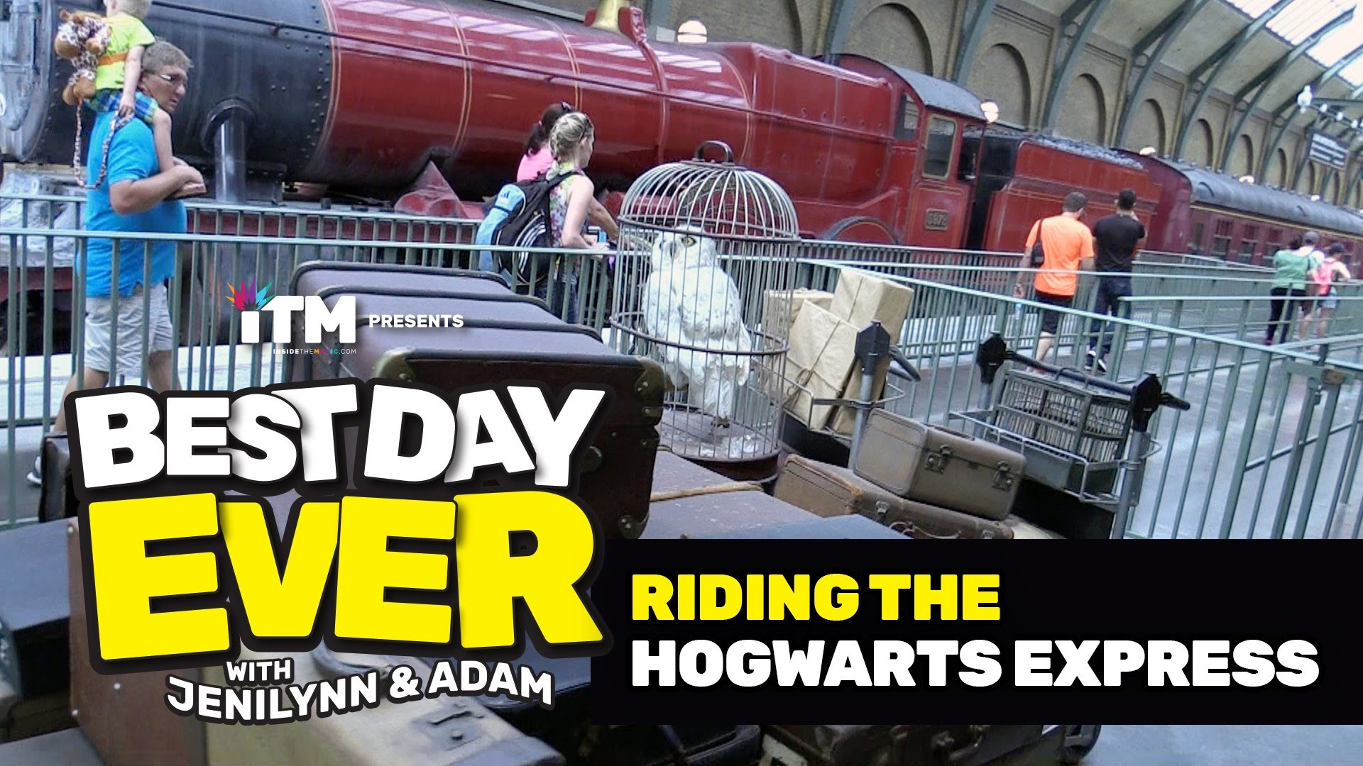 Res: 1920x1080, BEST DAY EVER: Riding the Hogwarts Express (Universal Orlando)