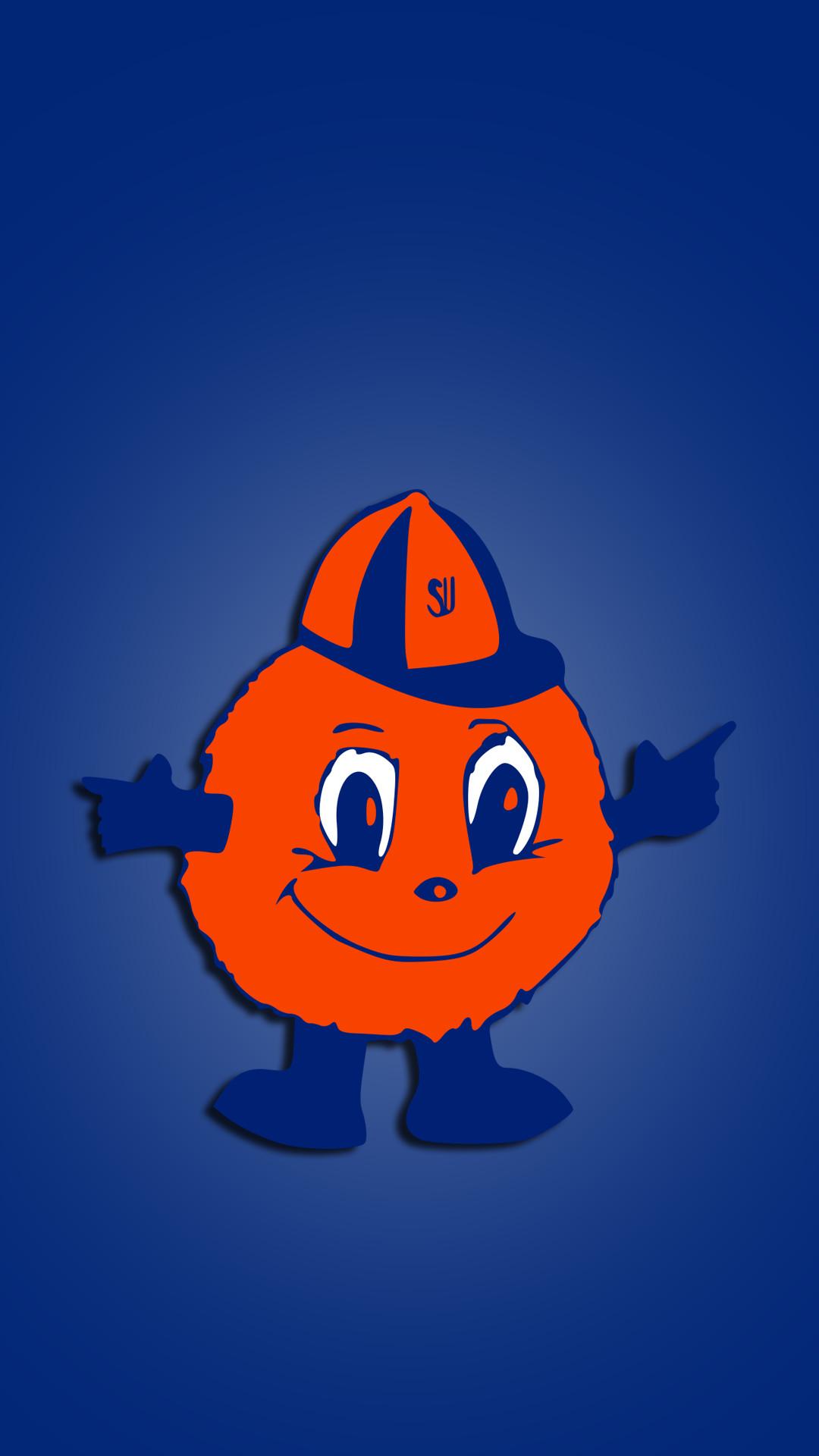 Res: 1080x1920, Syracuse Orange 02.png