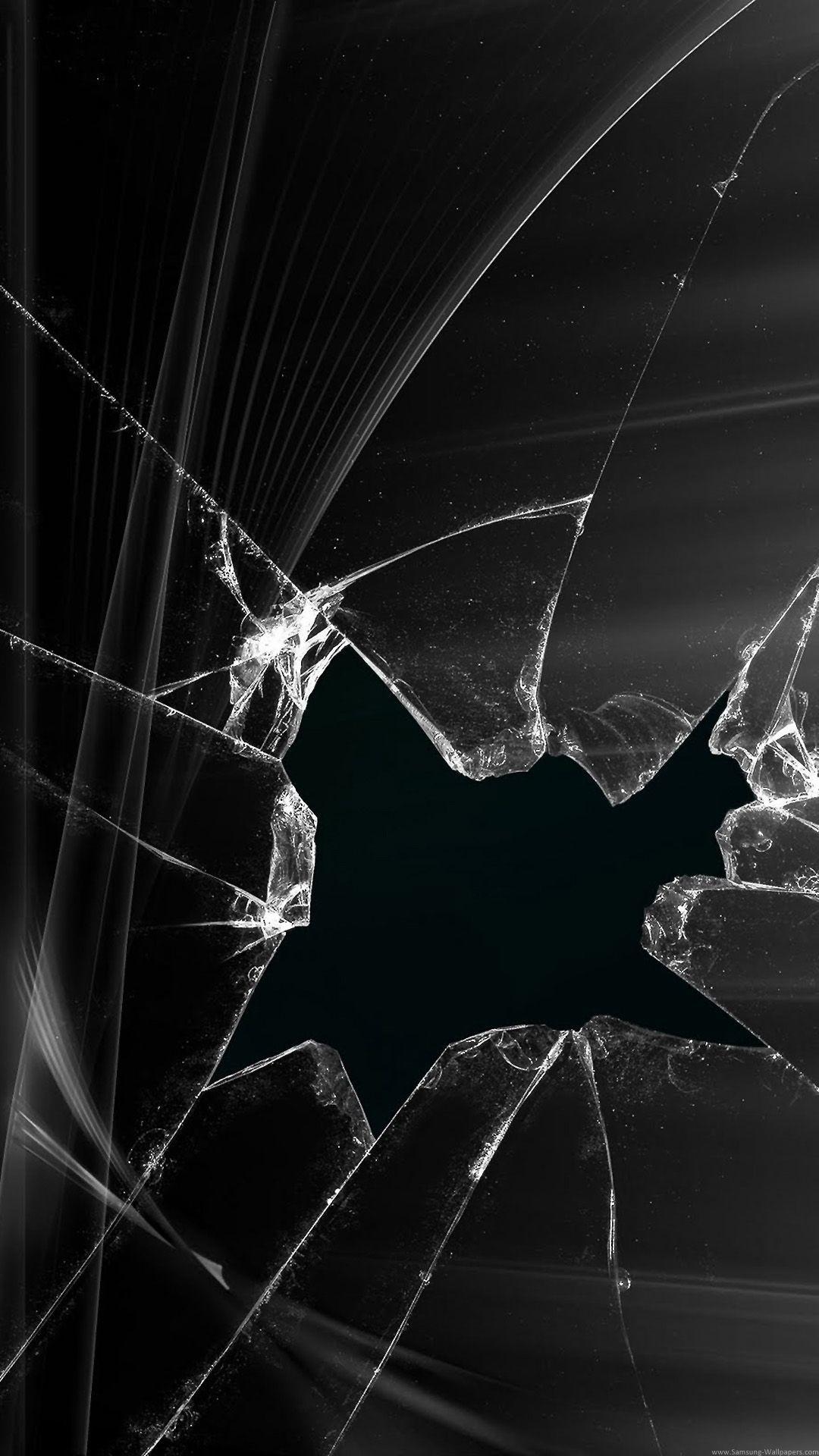 Res: 1080x1920, broken-screen-wallpaper-black-abstract-picture-cracked-screen-wallpaper.jpg  (1080×1920)