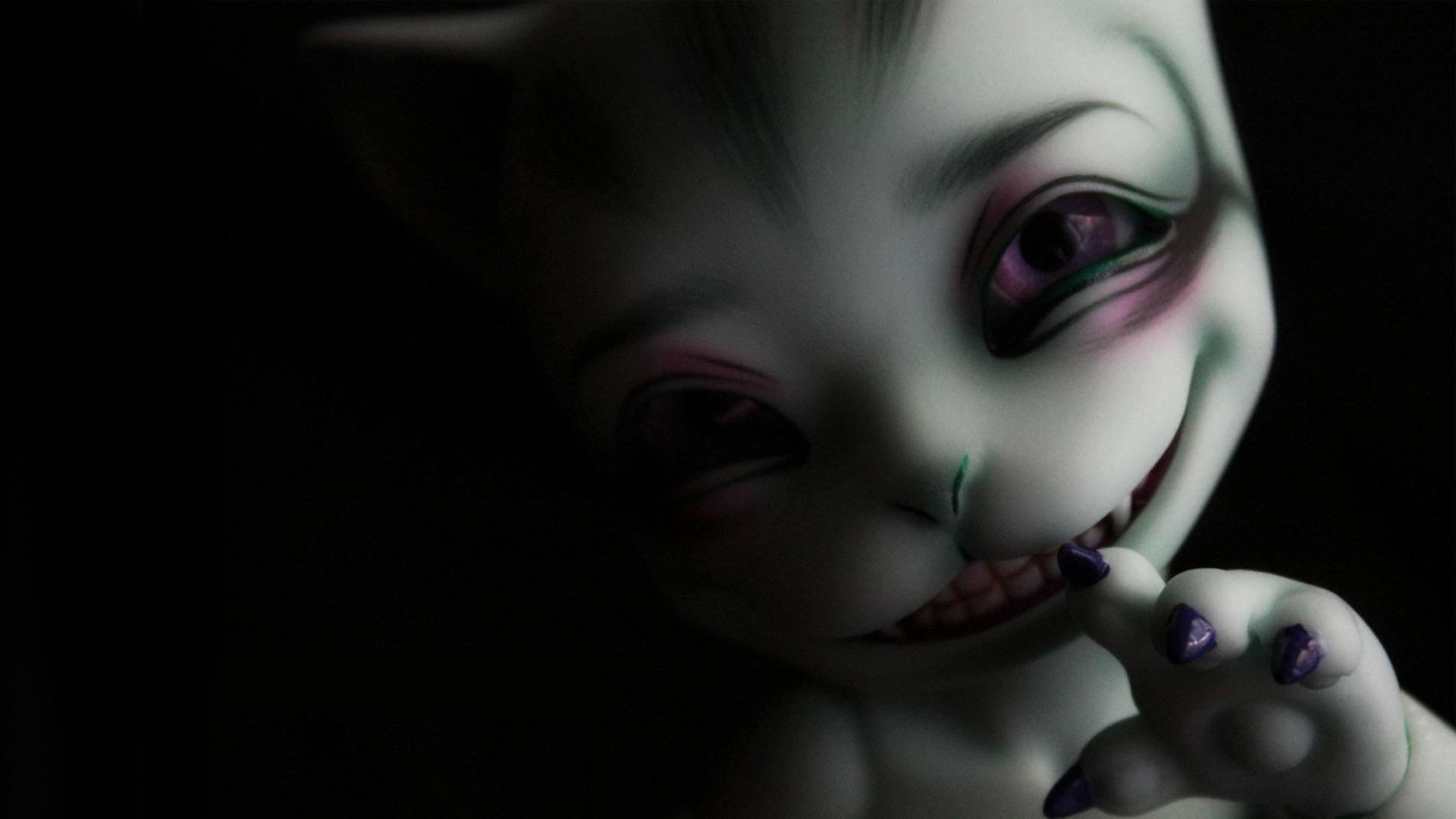 Res: 1920x1080, Dark Creepy Background
