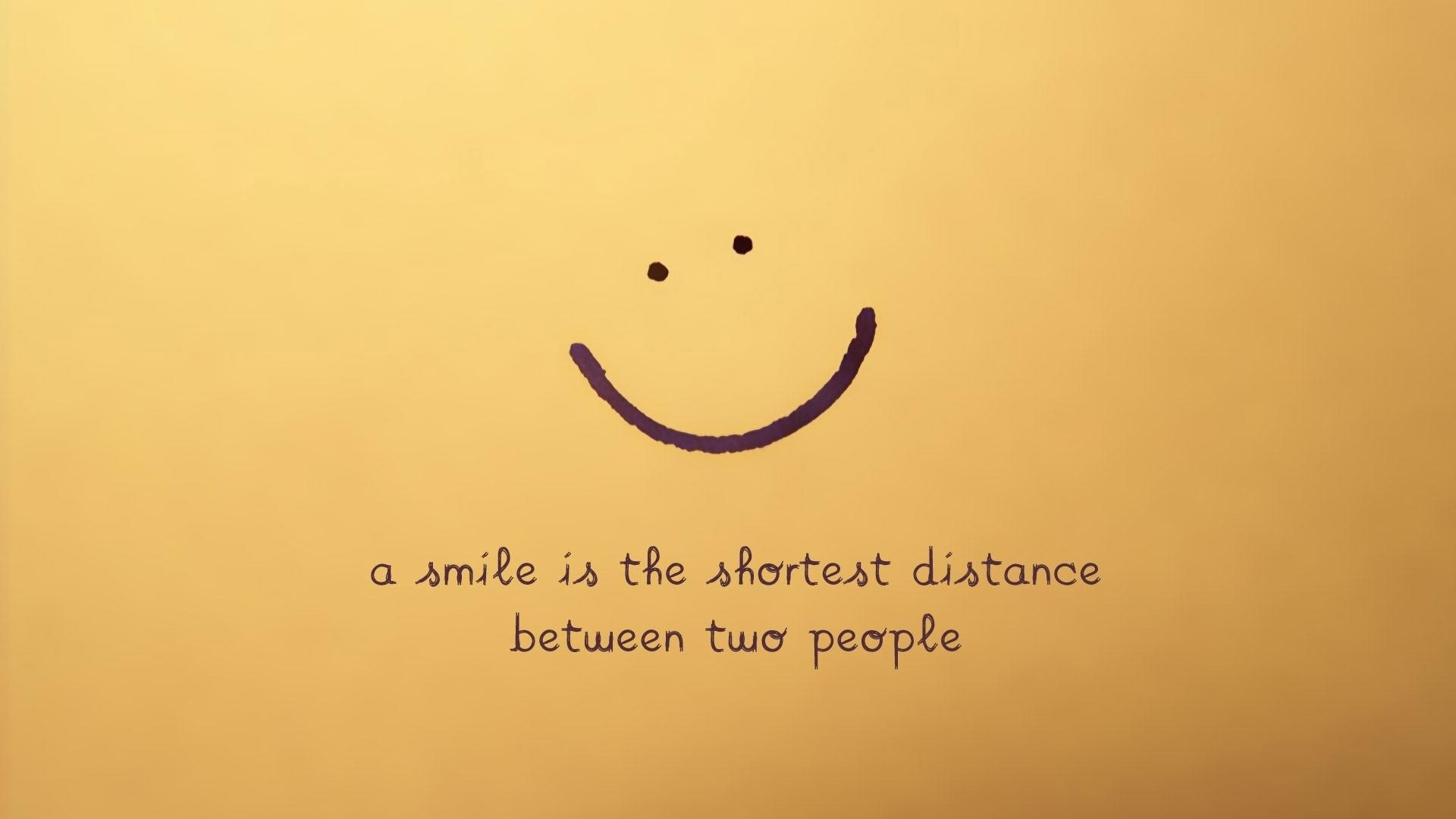 Res: 1920x1080, Beautiful Smile Quote Wallpaper MixHD wallpapers