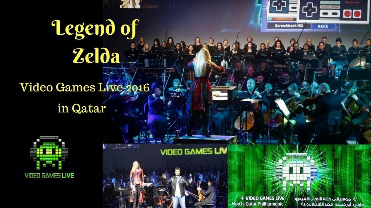 Res: 1920x1080, Legend of Zelda - Video Games Live Qatar 2016
