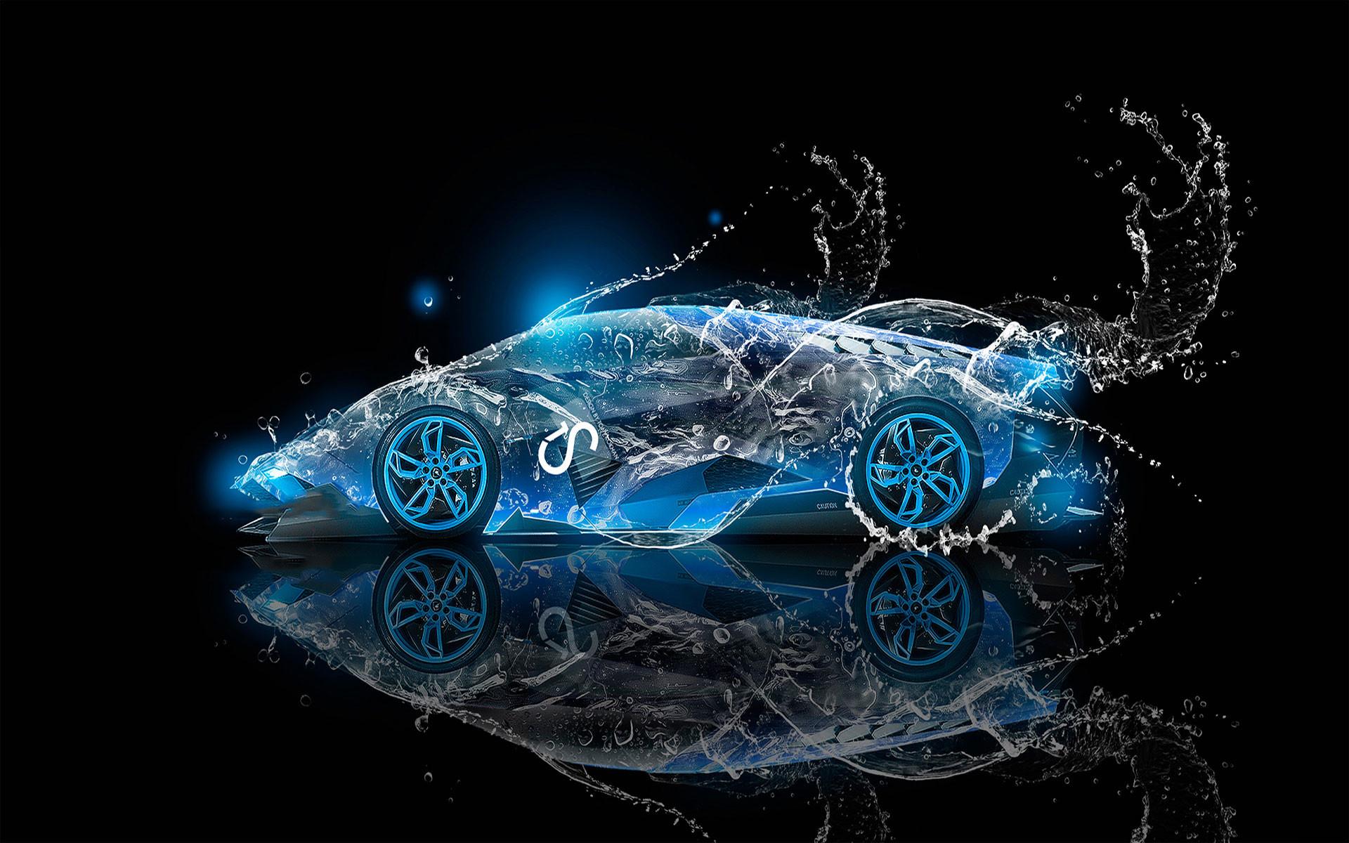 Res: 1920x1200, Lamborghini Water Car HD Wallpapers