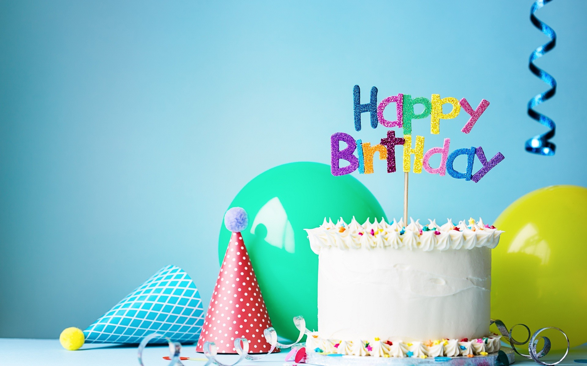 Res: 1920x1200, Birthday celebration cake and gift toys wallpapers