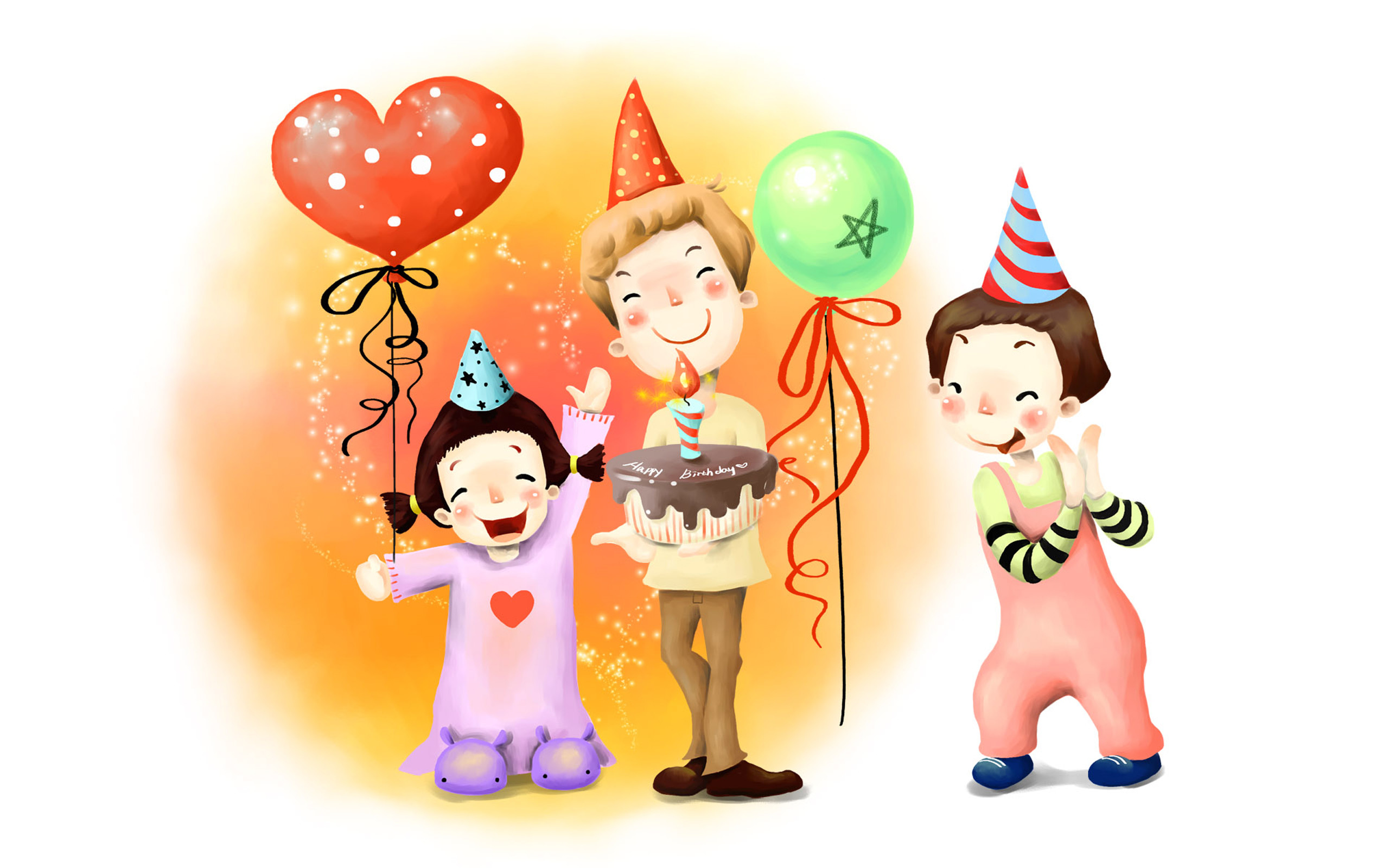 Res: 2560x1600, Funny Cartoons Birthday 21 Desktop Wallpaper
