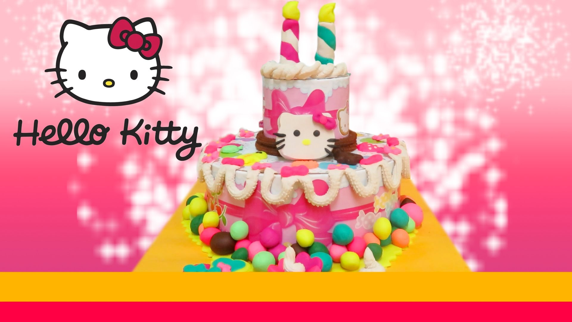 Res: 1920x1080, Hello Kitty Birthday Party Dough Playset Review