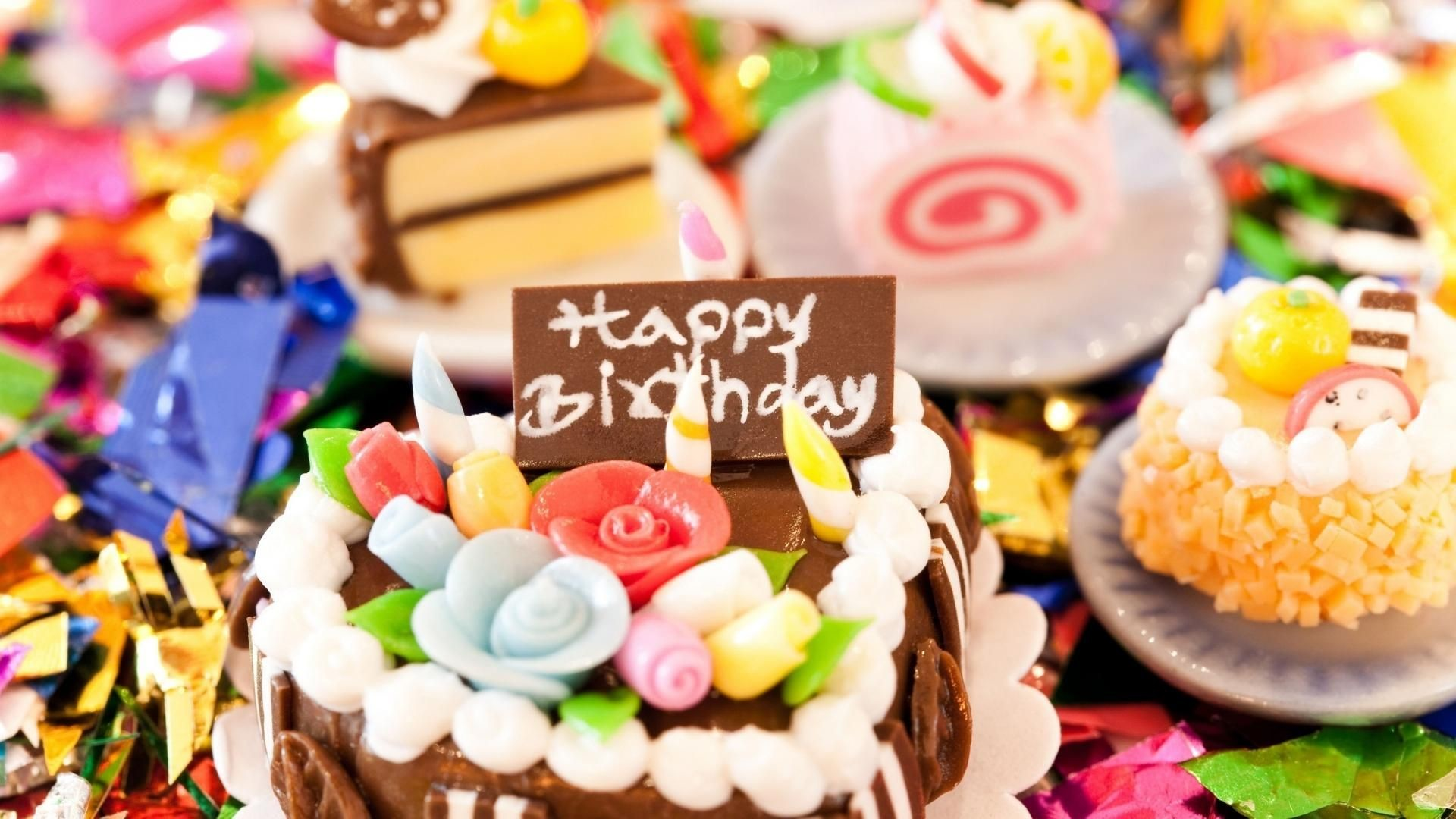 Res: 1920x1080, Happy Birthday Cake Pictures HD Wallpaper
