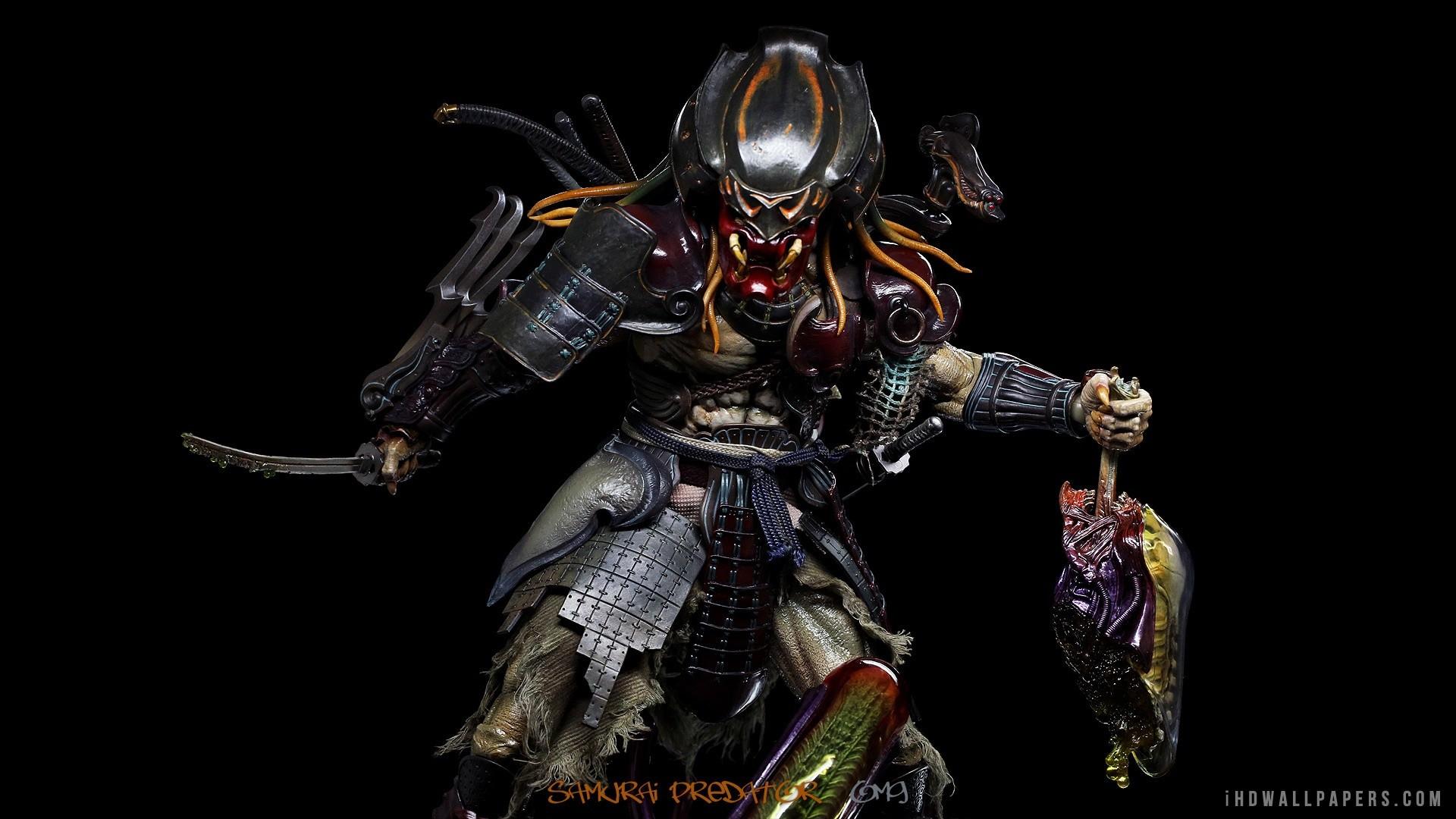 Res: 1920x1080, samurai masks artwork warriors conical hats  wallpaper 83712