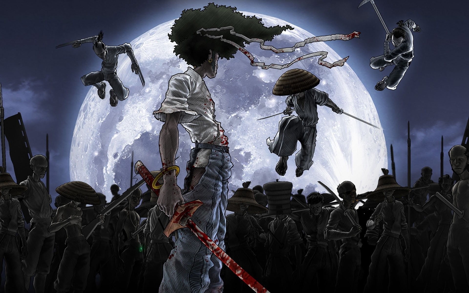Res: 1920x1200, HD Wallpaper | Background Image ID:128718.  Anime Afro Samurai