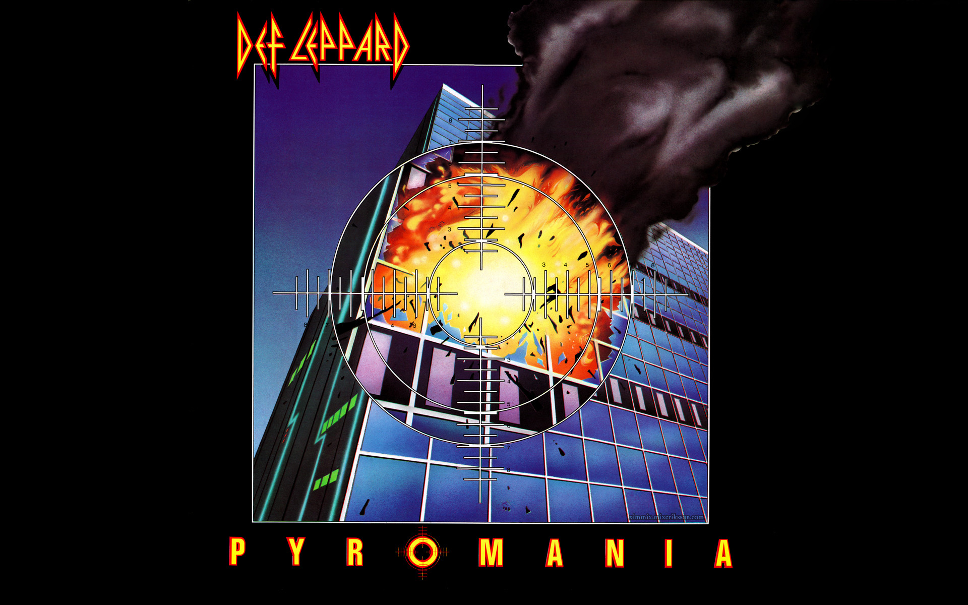 Res: 1920x1200, Music - Def Leppard Heavy Metal Metal Hard Rock Album Cover Wallpaper