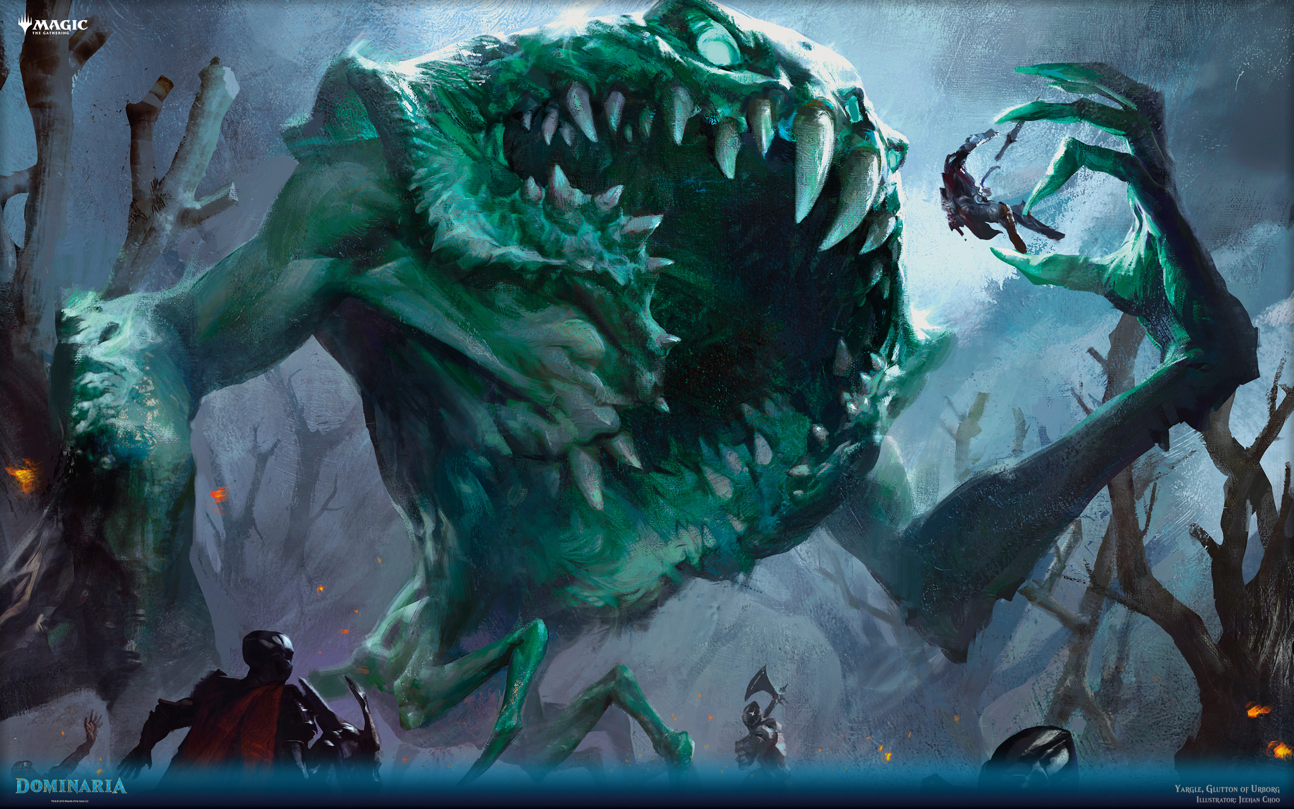 Res: 2560x1600, Yargle, Glutton of Urborg