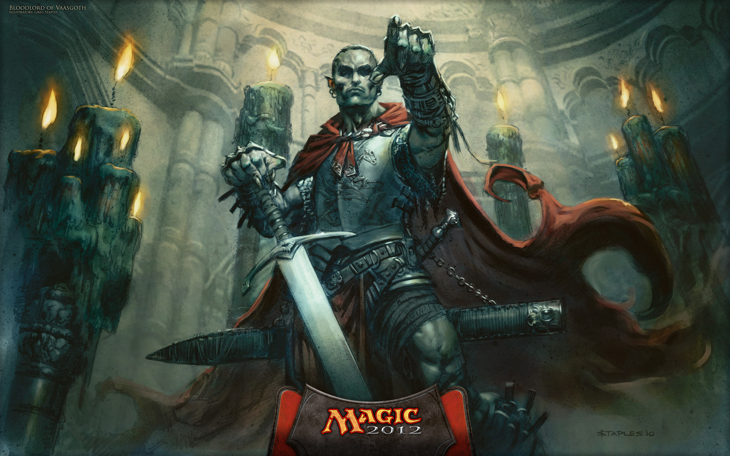 Res: 2560x1600, Magic The Gathering Vampire Wallpaper Blood Lord