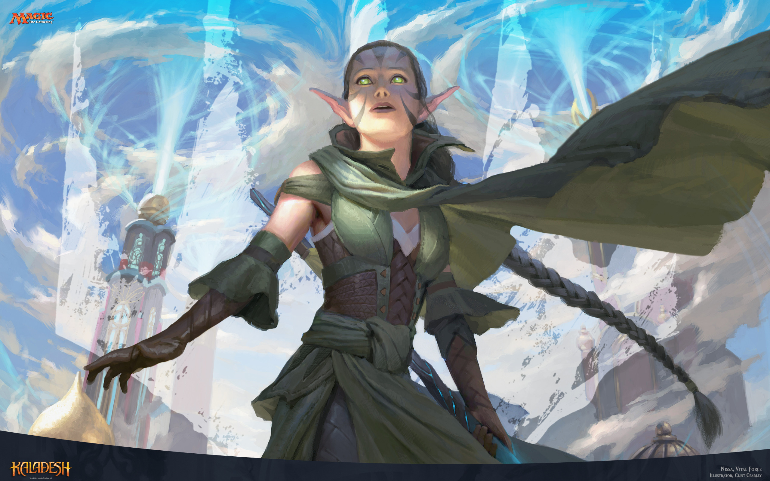Res: 2560x1600, Magic the Gathering images Nissa Vital Force HD wallpaper and background  photos