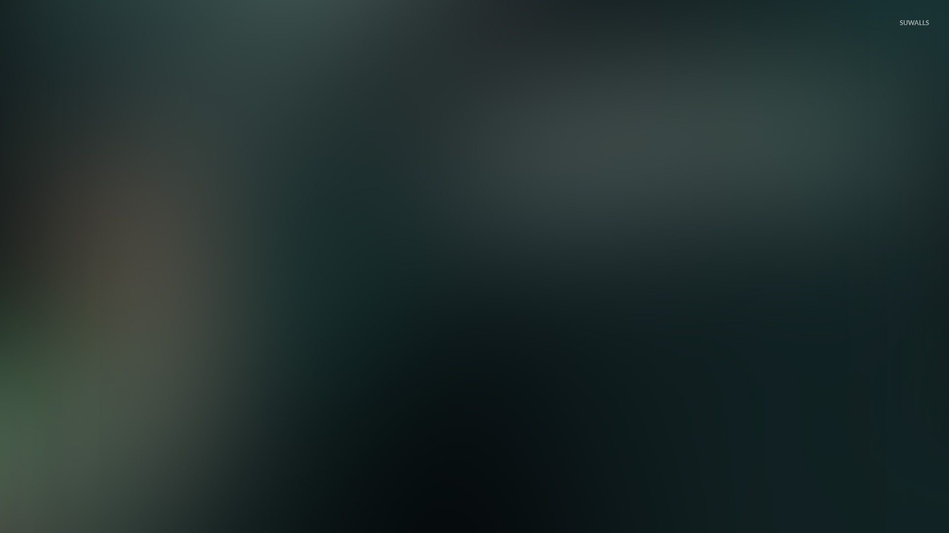 Res: 1920x1080, Dark green glow wallpaper