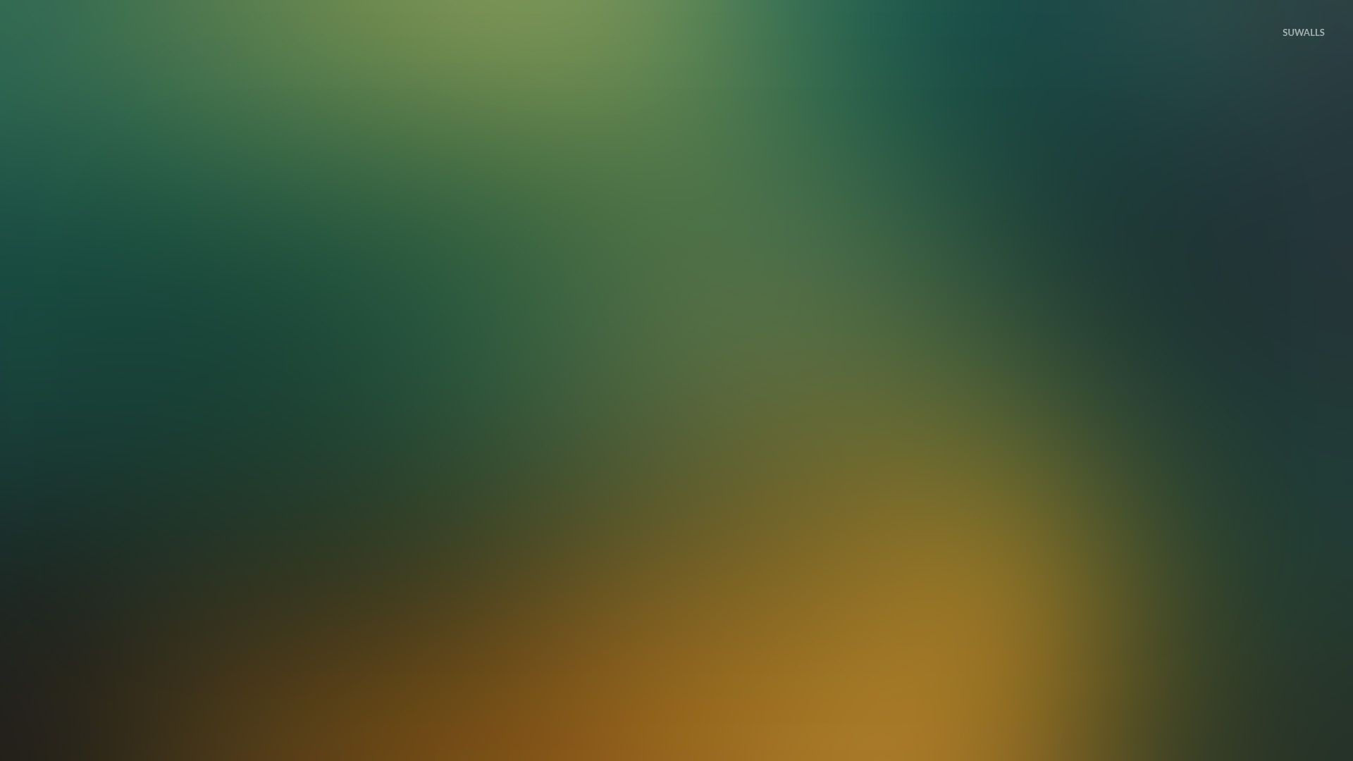 Res: 1920x1080, Green and yellow glow wallpaper