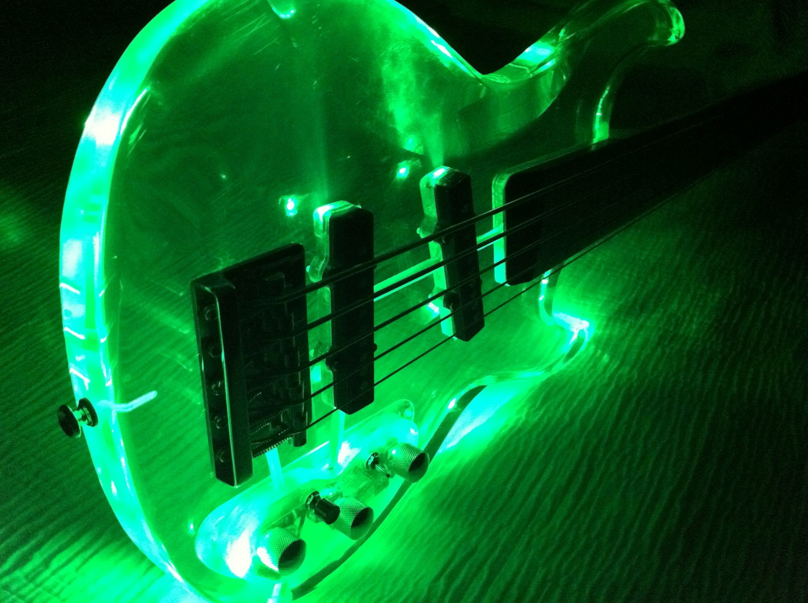 Res: 2592x1936, Glowing Guitar Wallpapers 5