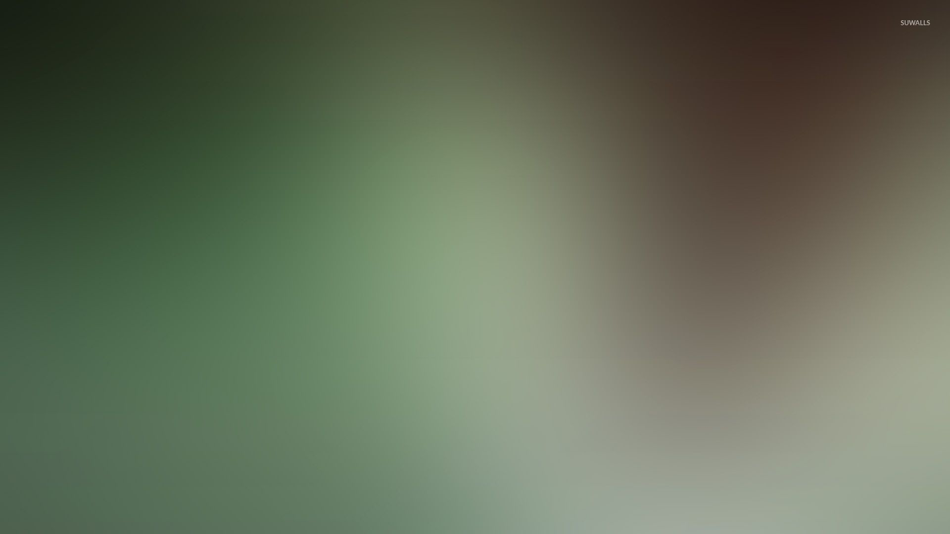 Res: 1920x1080, Green and brown glow wallpaper