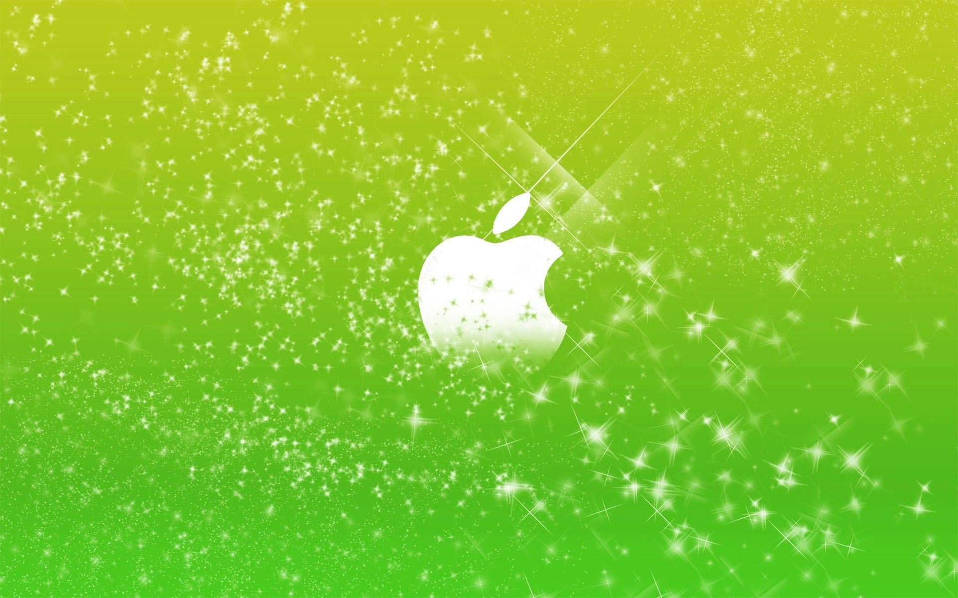 Res: 1920x1200, Find out: Apple Logo in Green Glow wallpaper on http://hdpicorner.